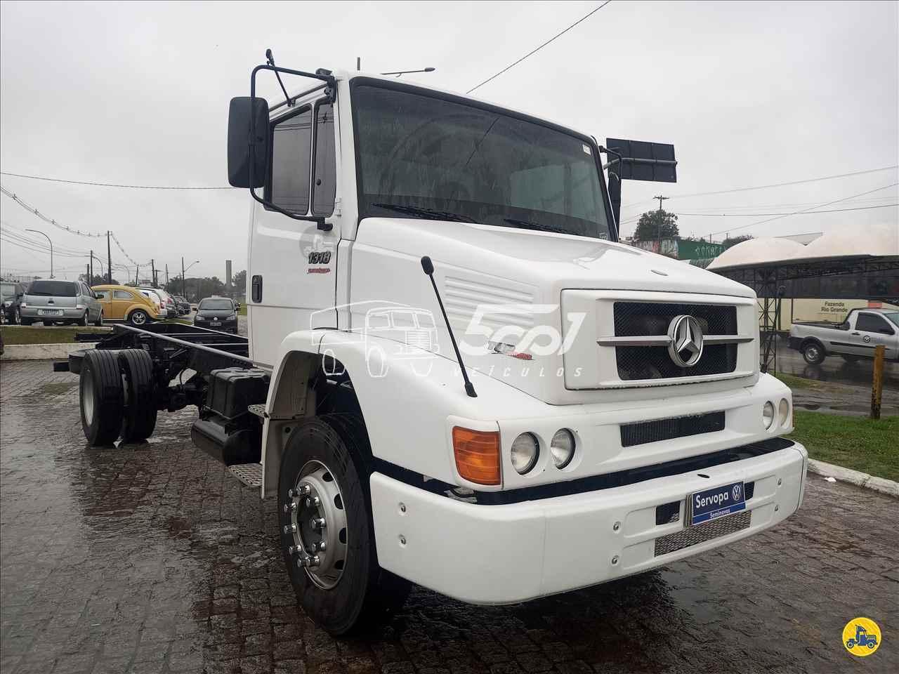 CAMINHAO MERCEDES-BENZ MB 1318 Carroceria Cabine Suplementar Toco 4x2 5001 Veículos - Curitiba CURITIBA PARANÁ PR