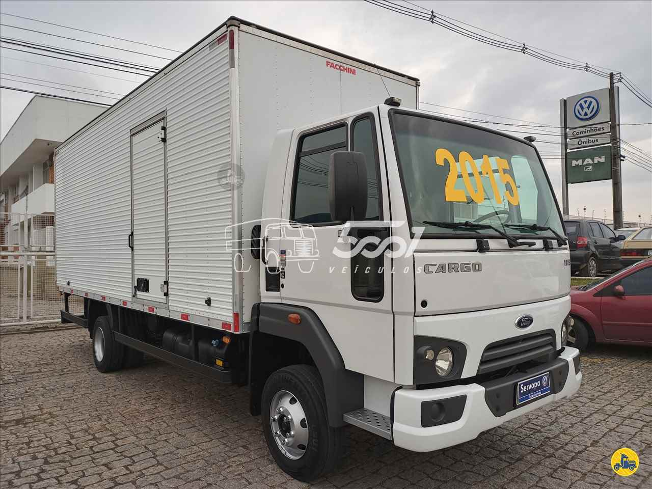 CAMINHAO FORD CARGO 1119 Baú Furgão 3/4 4x2 5001 Veículos - Curitiba CURITIBA PARANÁ PR