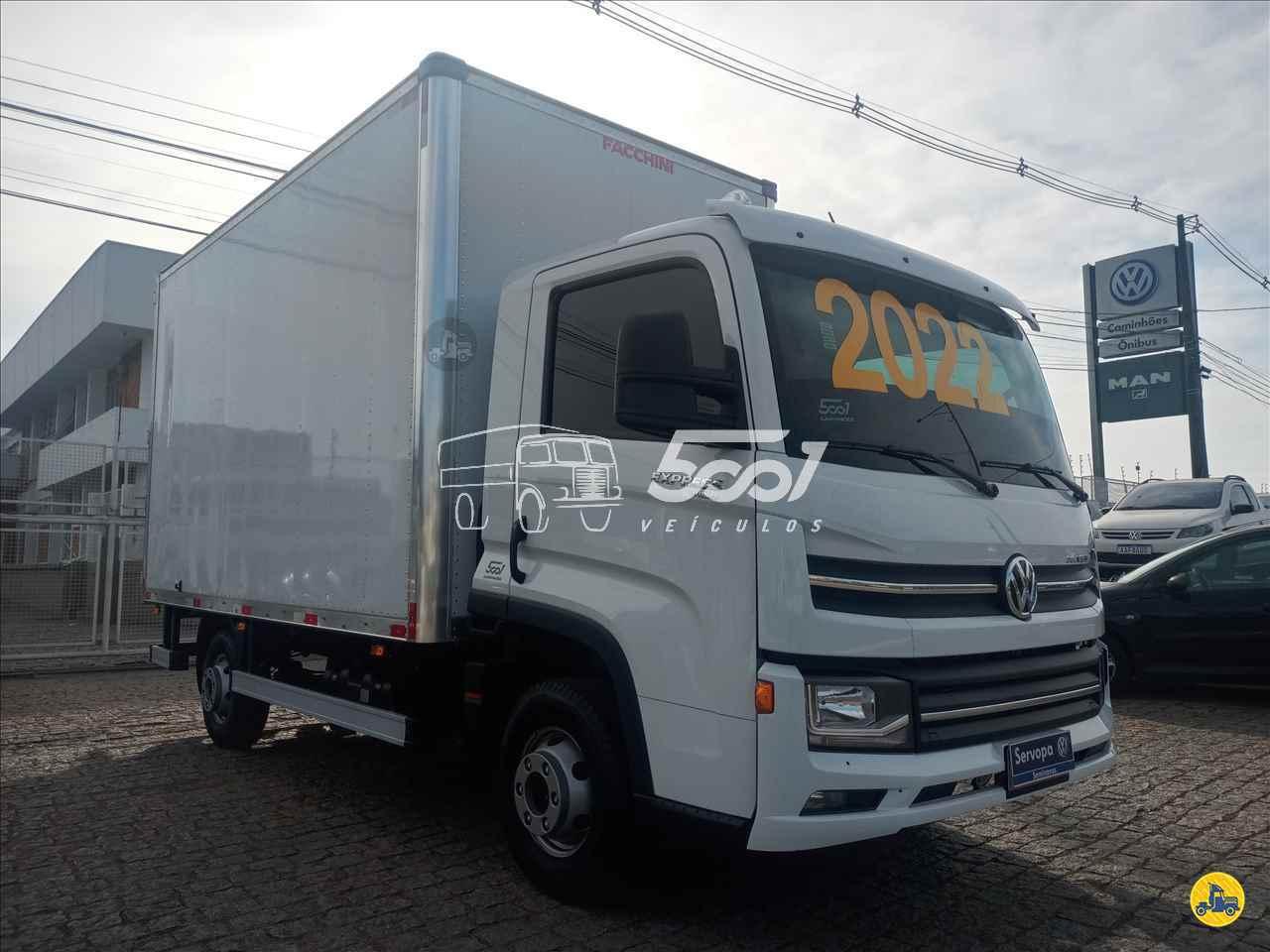 CAMINHAO VOLKSWAGEN DELIVERY EXPRESS Baú Furgão 3/4 4x2 5001 Veículos - Curitiba CURITIBA PARANÁ PR