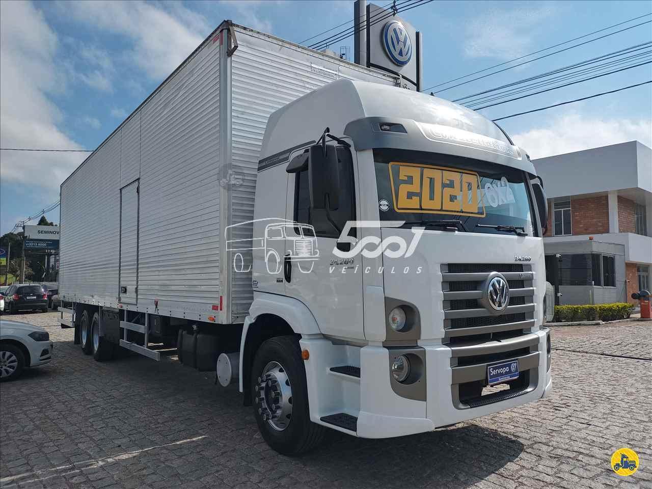 CAMINHAO VOLKSWAGEN VW 24280 Baú Furgão Truck 6x2 5001 Veículos - Curitiba CURITIBA PARANÁ PR