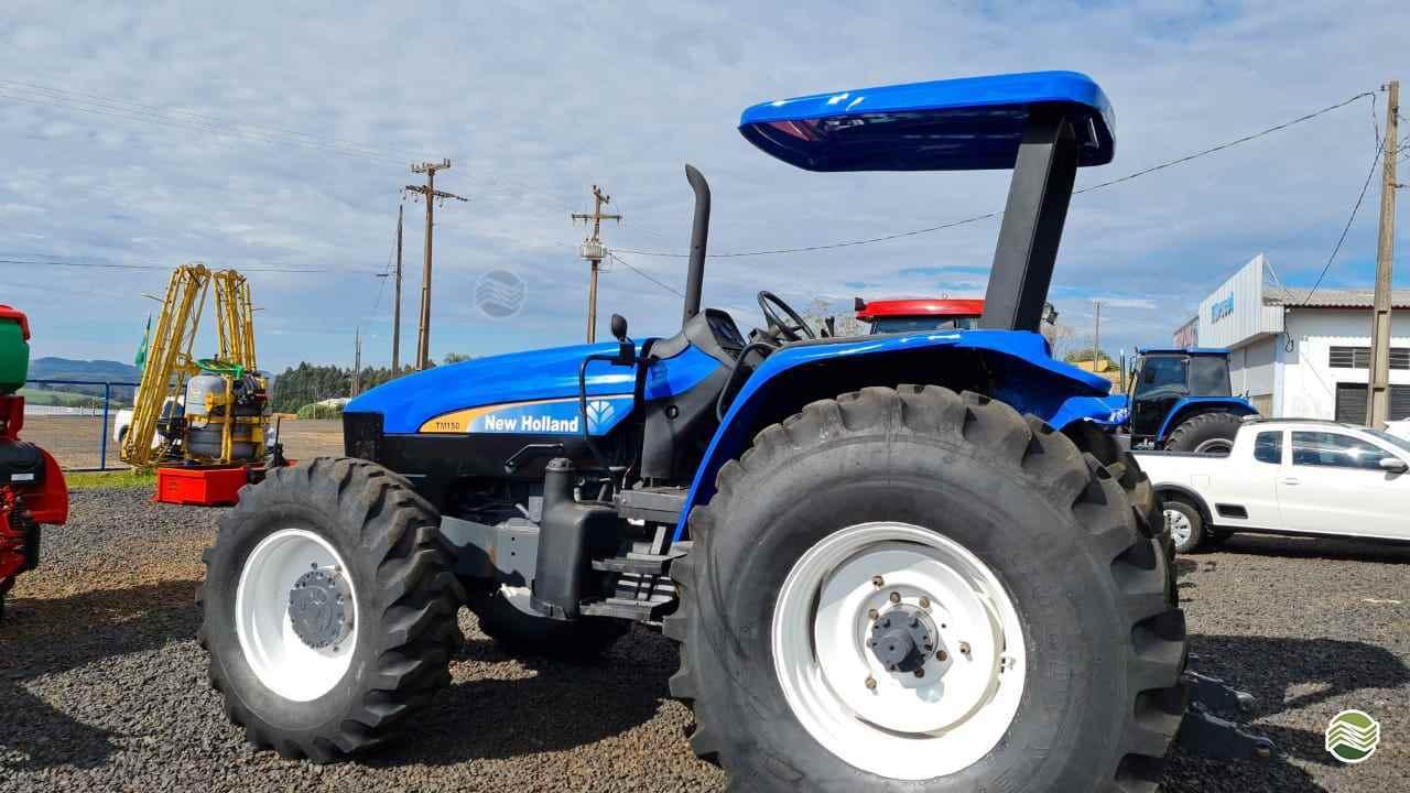 TRATOR NEW HOLLAND NEW TM 150 Tração 4x4 LG Peças e Máquinas Agrícolas CHOPINZINHO PARANÁ PR