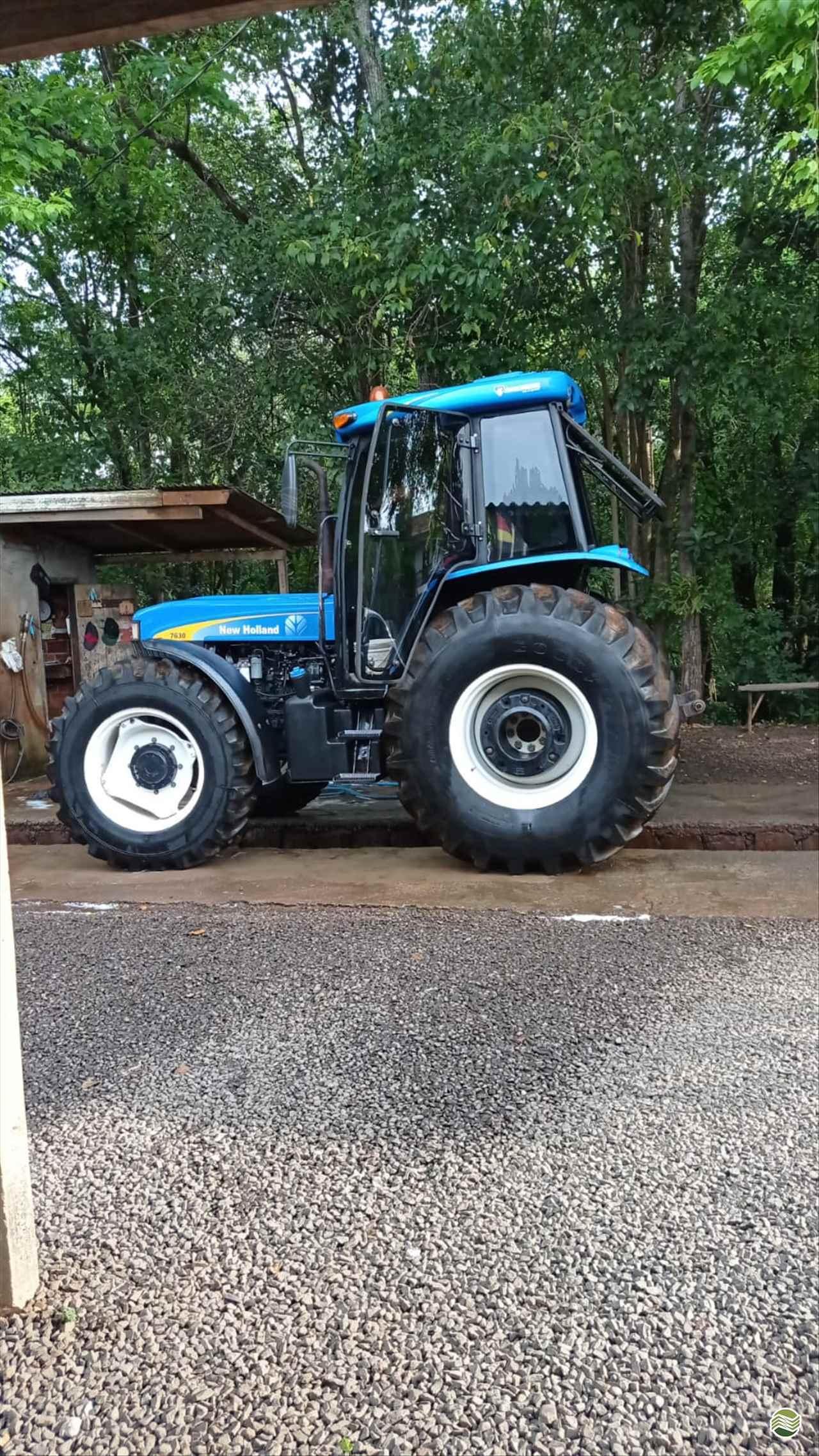 TRATOR NEW HOLLAND NEW 7630 Tração 4x4 LG Peças e Máquinas Agrícolas CHOPINZINHO PARANÁ PR
