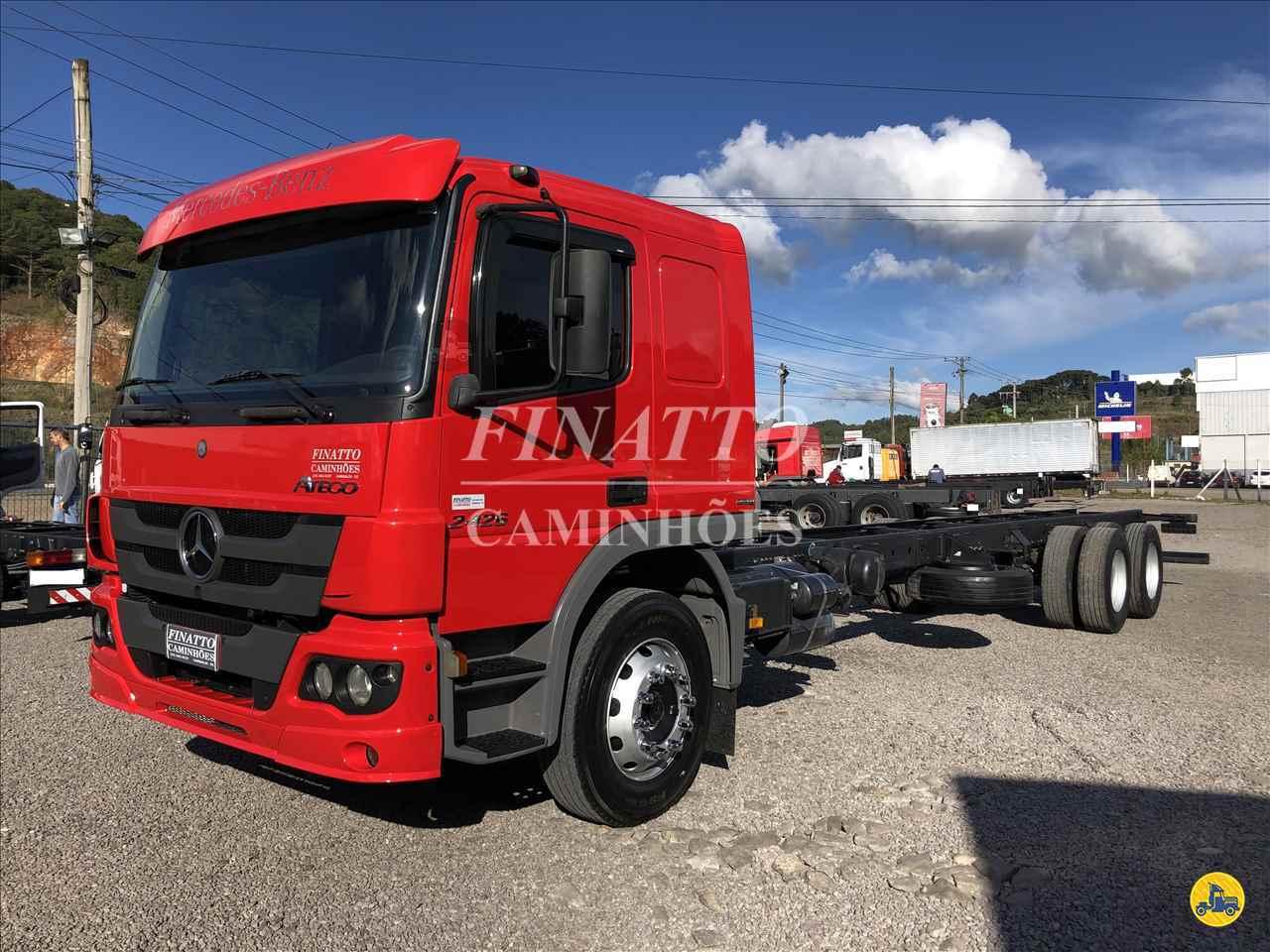 CAMINHAO MERCEDES-BENZ MB 2426 Chassis Truck 6x2 Finatto Caminhões GARIBALDI RIO GRANDE DO SUL RS
