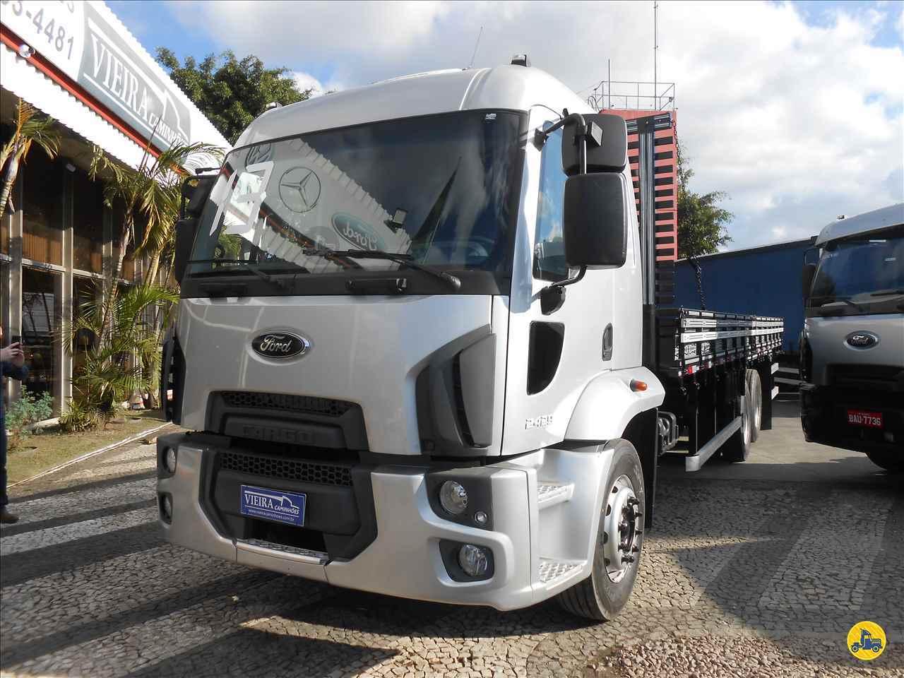 CAMINHAO FORD CARGO 2429 Carga Seca Truck 6x2 Vieira Caminhões CURITIBA PARANÁ PR