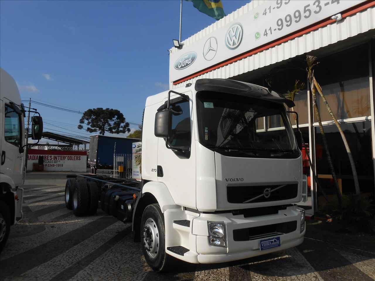 CAMINHAO VOLVO VOLVO VM 270 Chassis Truck 6x2 Vieira Caminhões CURITIBA PARANÁ PR