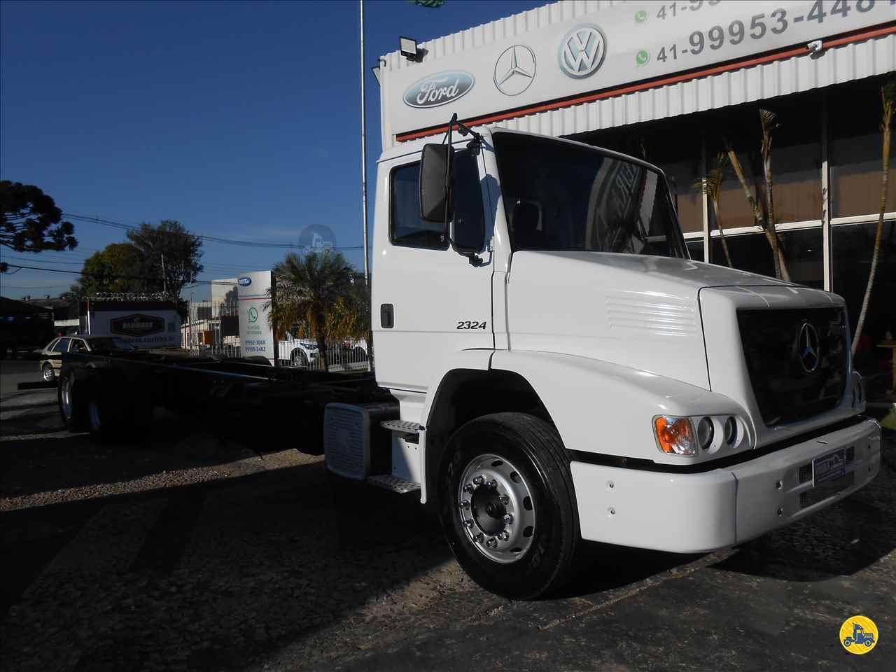 CAMINHAO MERCEDES-BENZ MB 2324 Chassis Truck 6x2 Vieira Caminhões CURITIBA PARANÁ PR