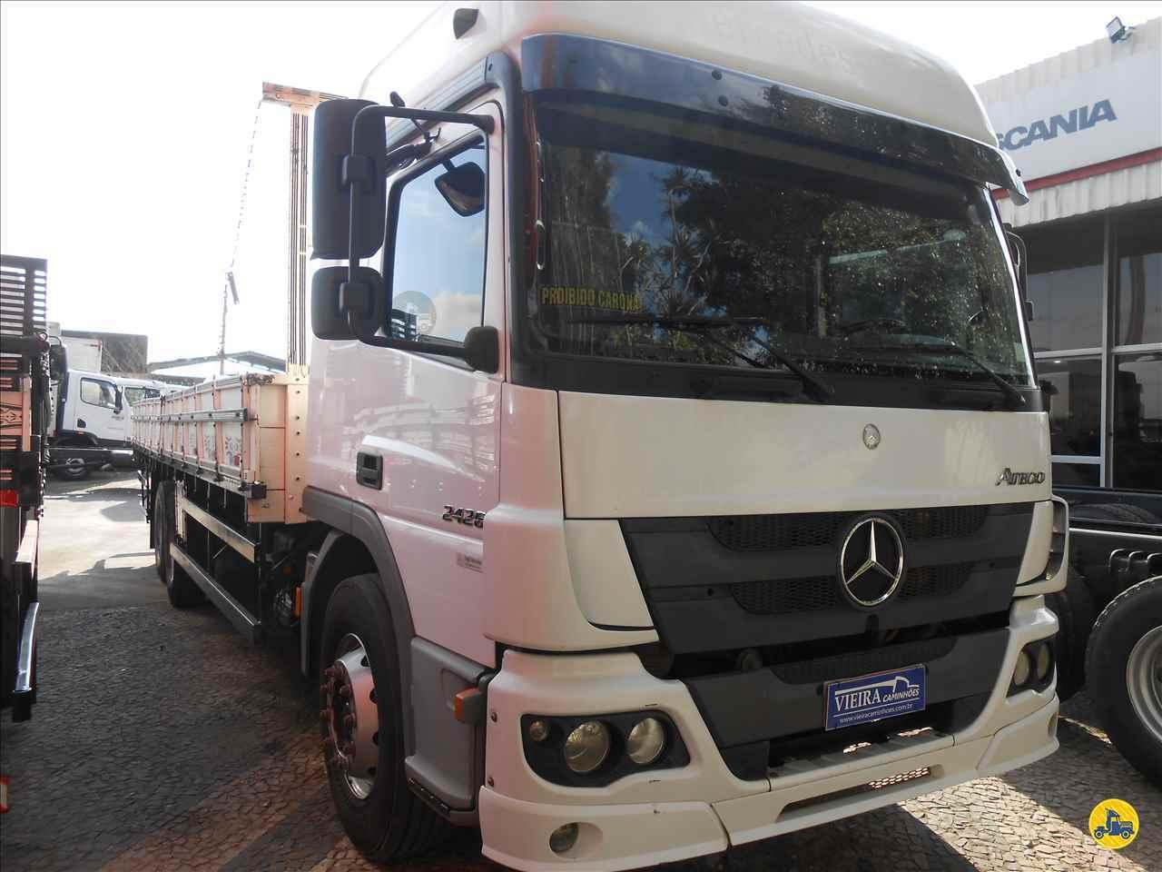 CAMINHAO MERCEDES-BENZ MB 2426 Carga Seca Truck 6x2 Vieira Caminhões CURITIBA PARANÁ PR