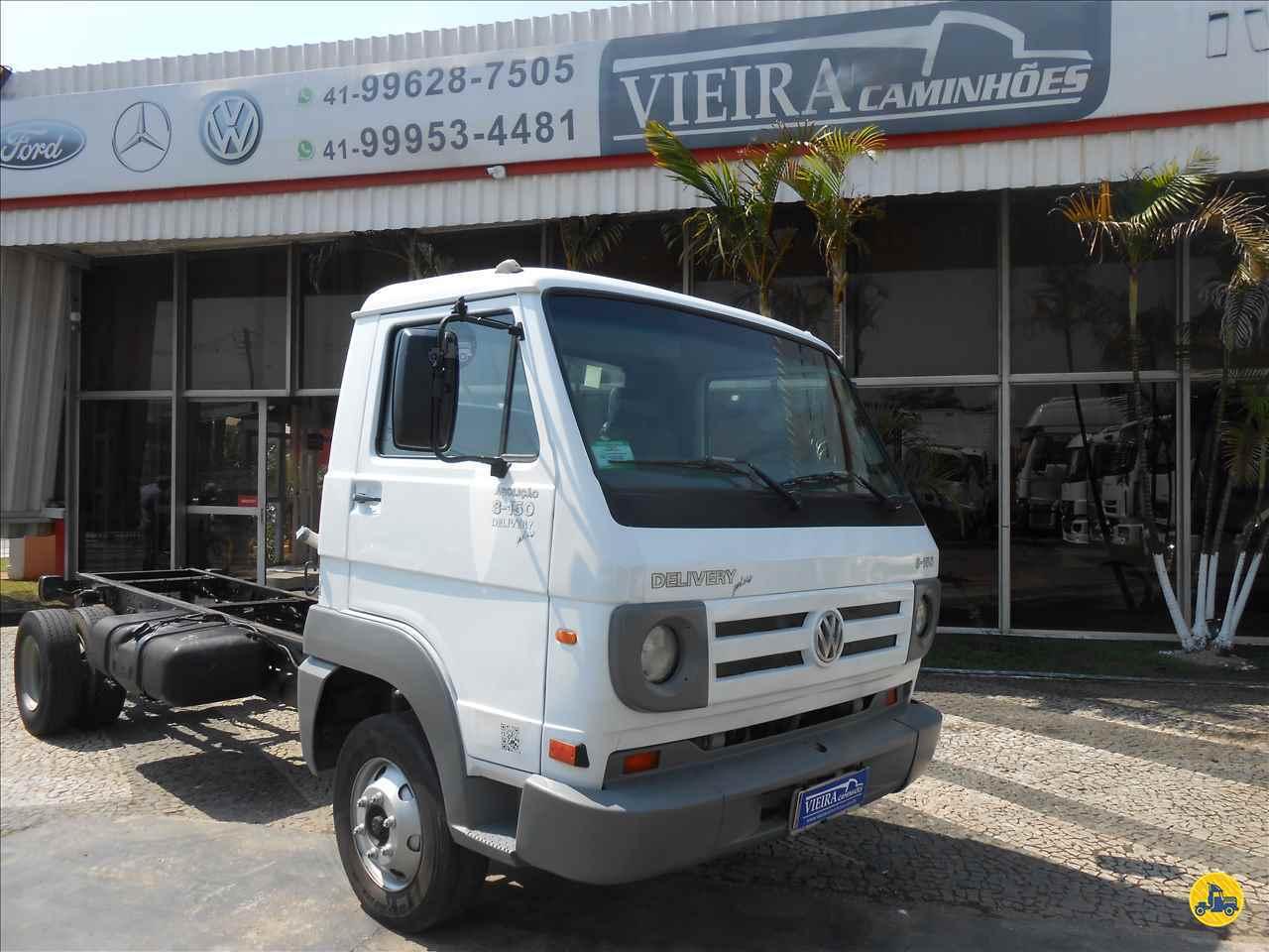CAMINHAO VOLKSWAGEN VW 8150 Chassis 3/4 4x2 Vieira Caminhões CURITIBA PARANÁ PR