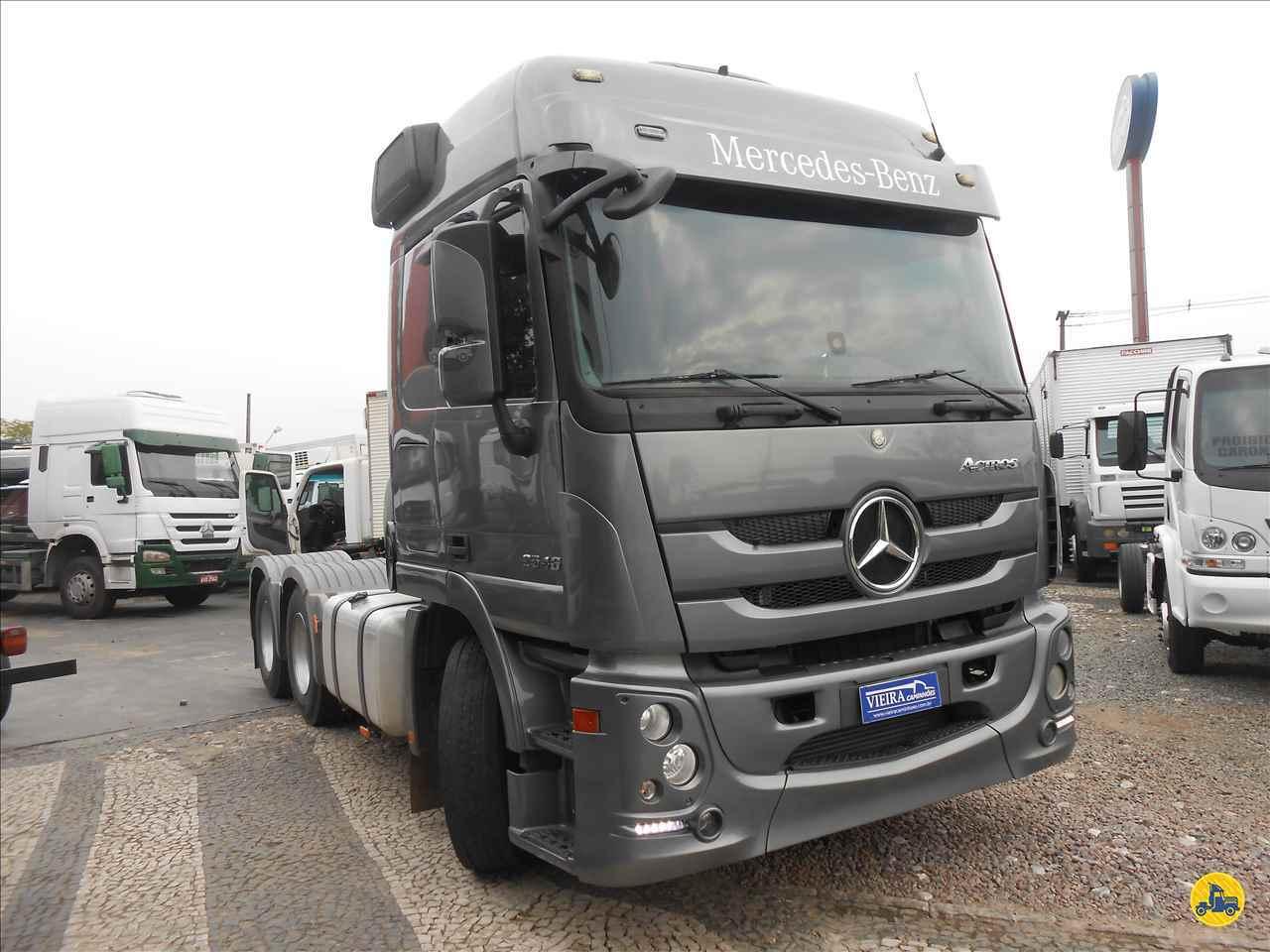 CAMINHAO MERCEDES-BENZ MB 2644 Cavalo Mecânico Truck 6x2 Vieira Caminhões CURITIBA PARANÁ PR