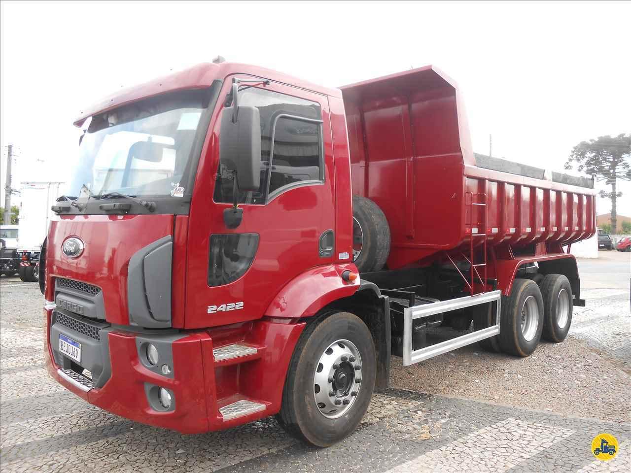 CAMINHAO FORD CARGO 2422 Caçamba Basculante Truck 6x2 Vieira Caminhões CURITIBA PARANÁ PR