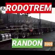 RODOTREM GRANELEIRO  2009/2009 Seminovos G5 do Brasil