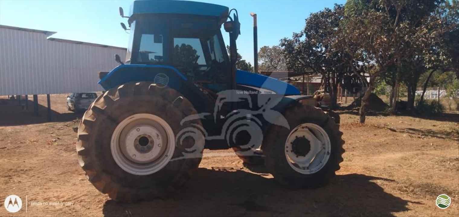 TRATOR NEW HOLLAND NEW TS 110 Tração 4x4 EP Máquinas e Implementos Agrícolas CRISTALINA GOIAS GO