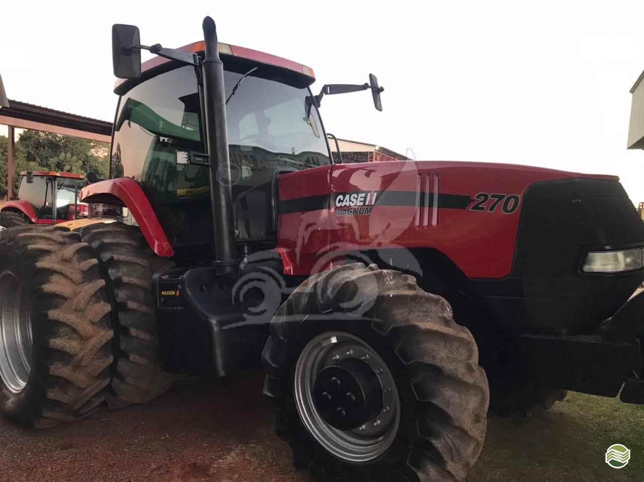 TRATOR CASE MAGNUM 270 Tração 4x4 EP Máquinas e Implementos Agrícolas CRISTALINA GOIAS GO