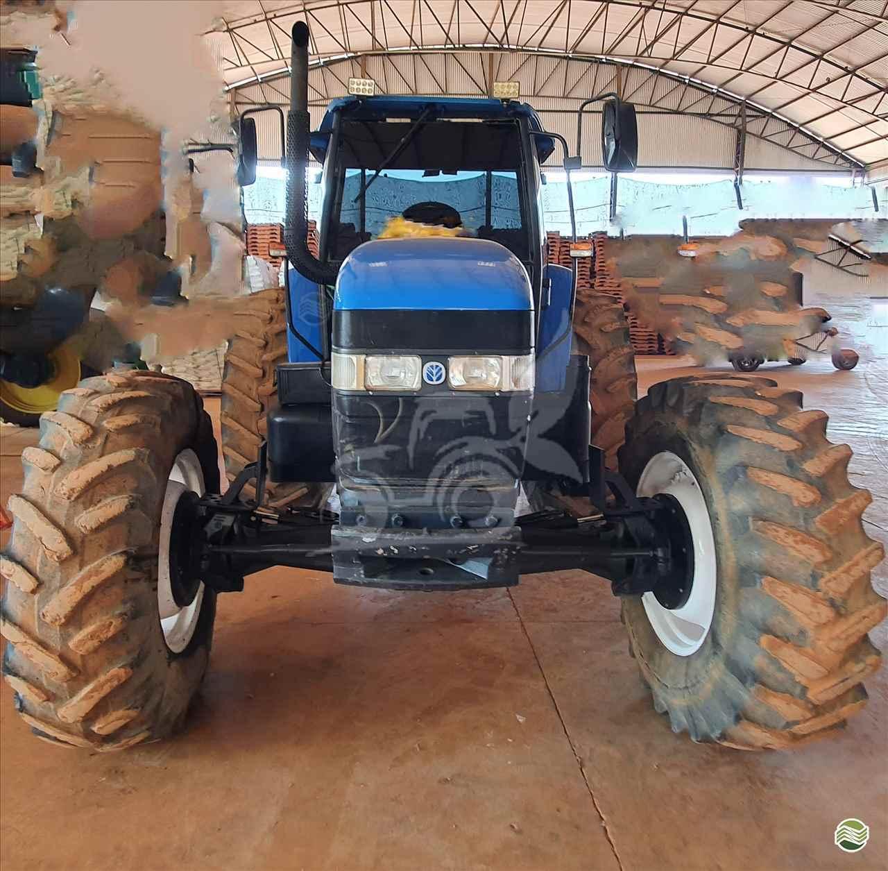 TRATOR NEW HOLLAND NEW TM 165 Tração 4x4 EP Máquinas e Implementos Agrícolas CRISTALINA GOIAS GO