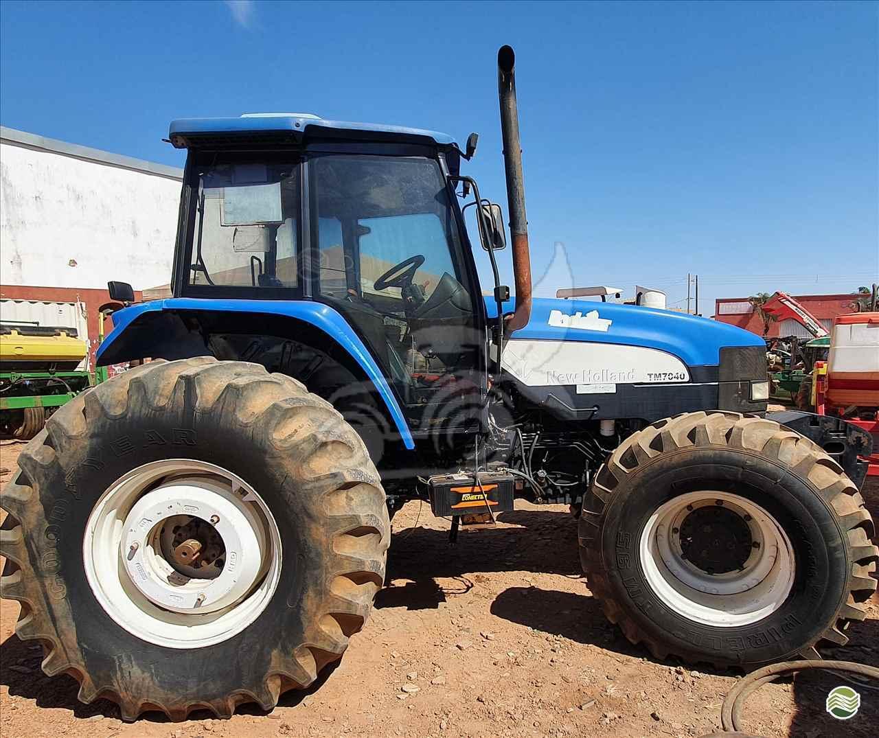 TRATOR NEW HOLLAND NEW TM 7040 Tração 4x4 EP Máquinas e Implementos Agrícolas CRISTALINA GOIAS GO