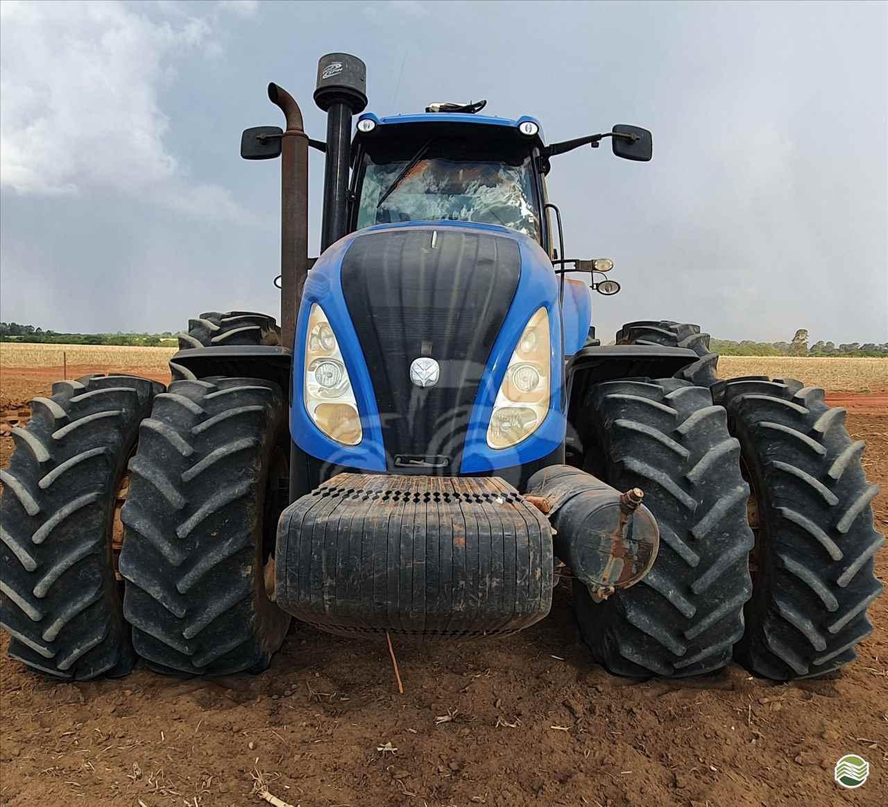 TRATOR NEW HOLLAND NEW T8 355 Tração 4x4 EP Máquinas e Implementos Agrícolas CRISTALINA GOIAS GO