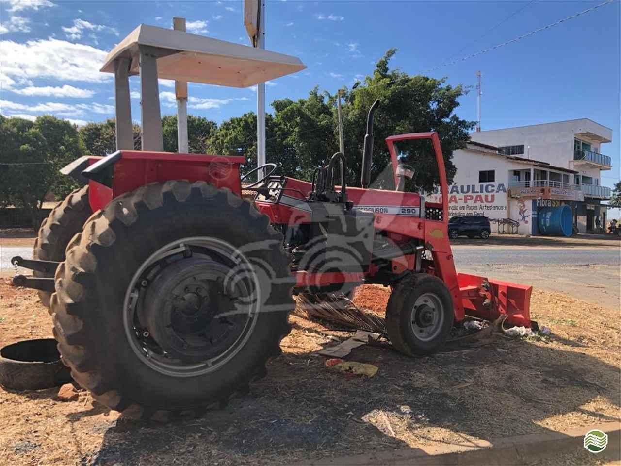 TRATOR MASSEY FERGUSON MF 290 Tração 4x2 EP Máquinas e Implementos Agrícolas CRISTALINA GOIAS GO