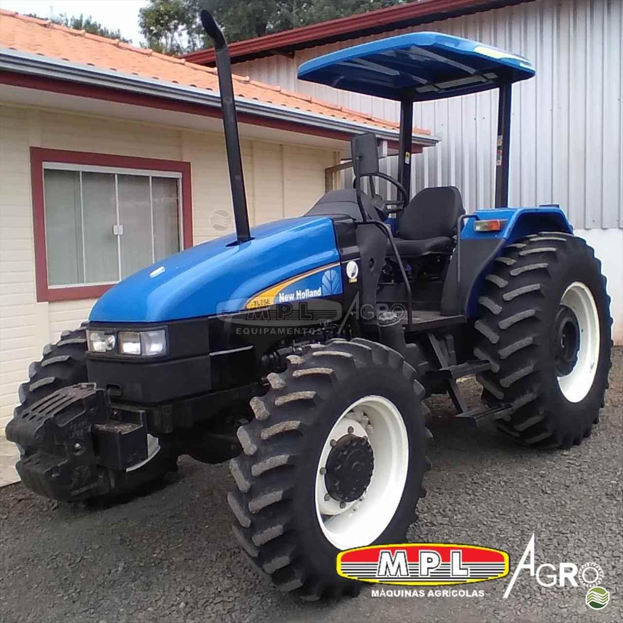 TRATOR NEW HOLLAND NEW TL 75 Tração 4x4 MPL Agro - Máquinas Agrícolas IRATI PARANÁ PR