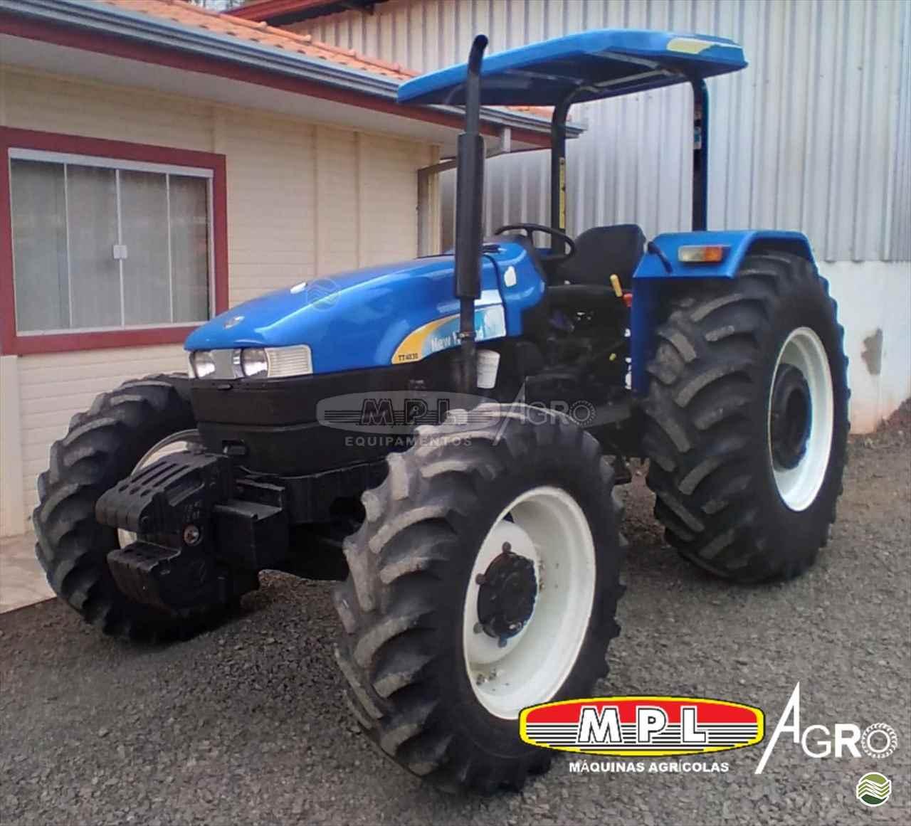 TRATOR NEW HOLLAND NEW TT 4030 Tração 4x4 MPL Agro - Máquinas Agrícolas IRATI PARANÁ PR