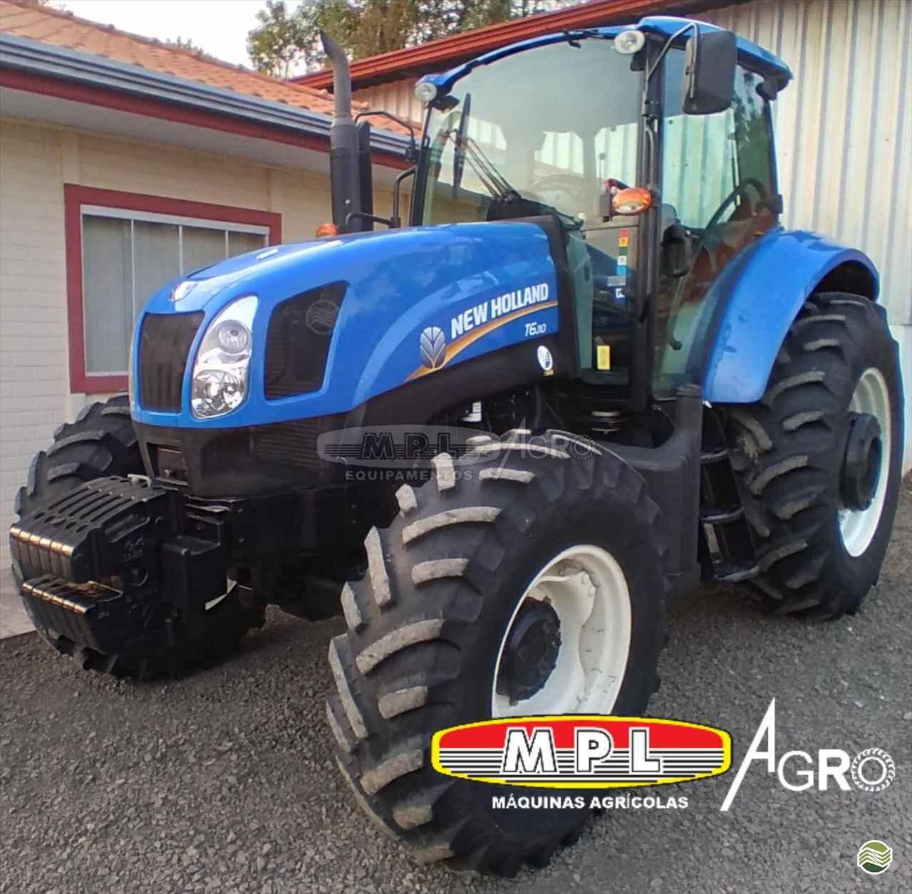 TRATOR NEW HOLLAND NEW T6 110 Tração 4x4 MPL Agro - Máquinas Agrícolas IRATI PARANÁ PR