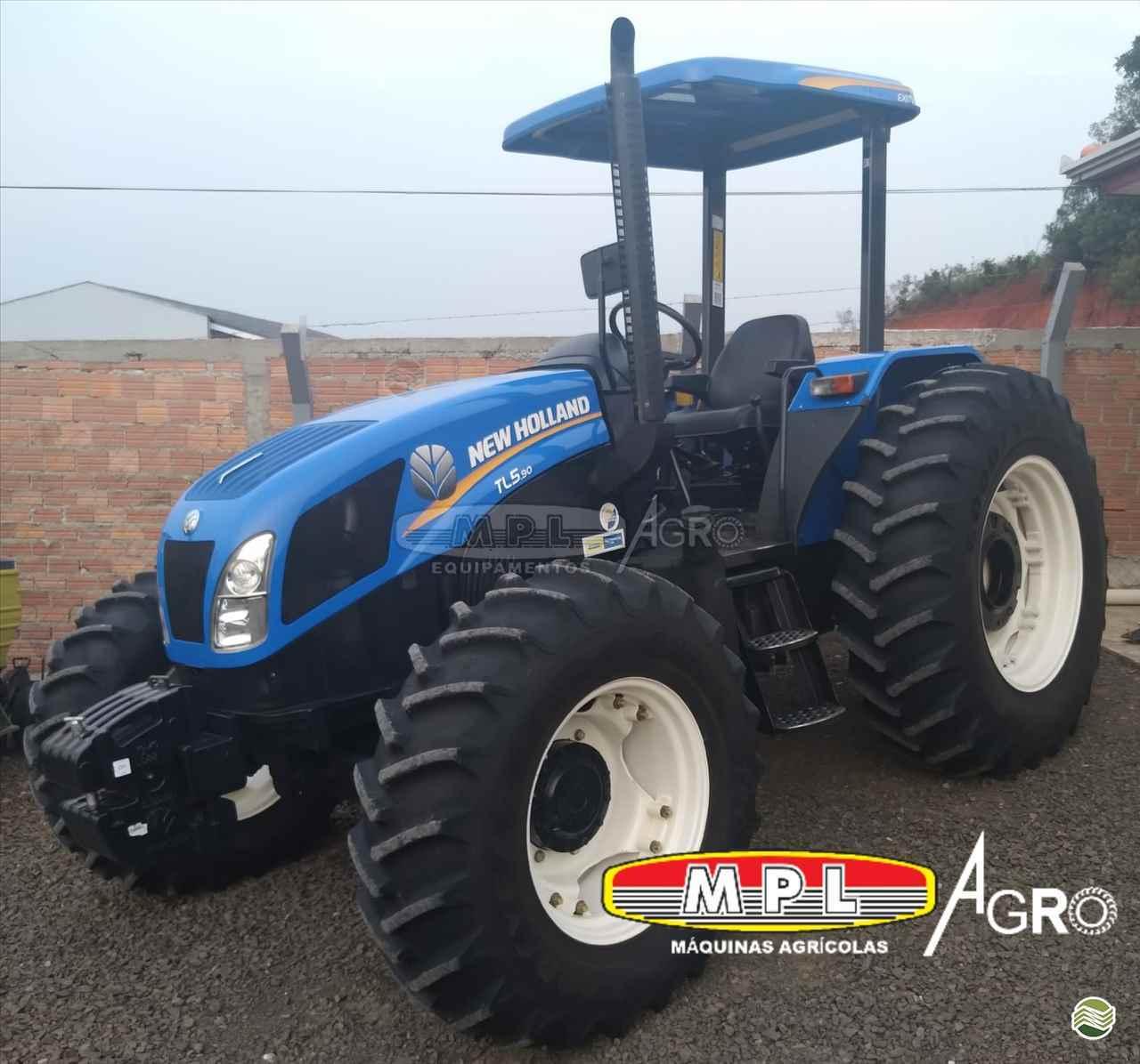 TRATOR NEW HOLLAND NEW TL5.90 Tração 4x4 MPL Agro - Máquinas Agrícolas IRATI PARANÁ PR