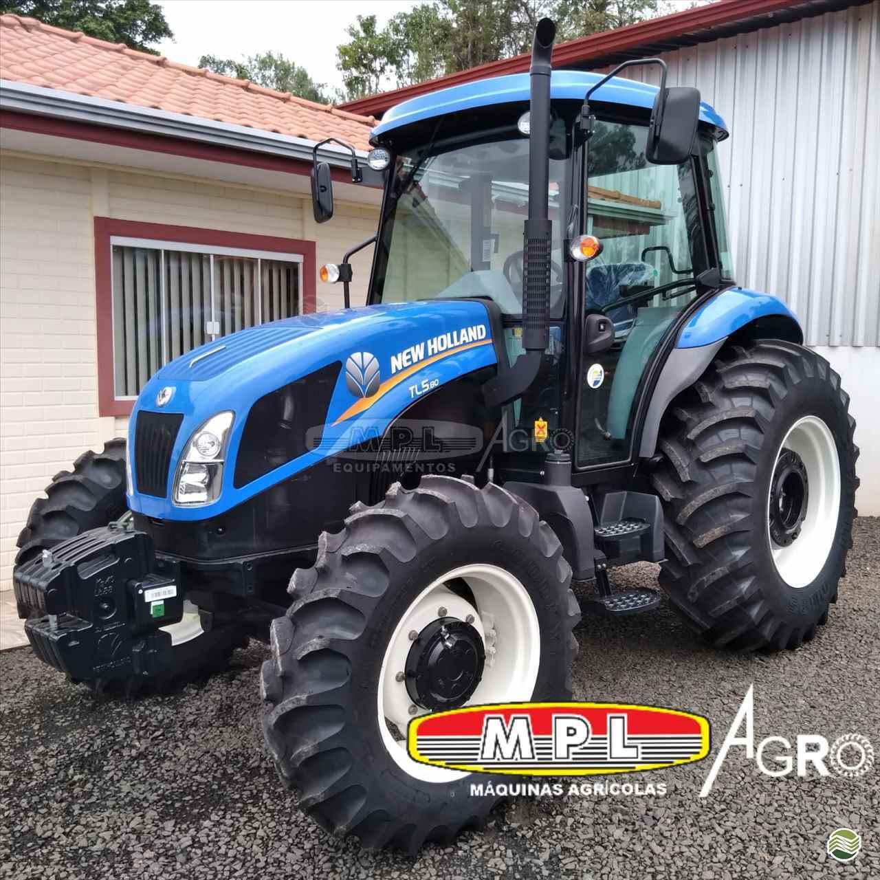 TRATOR NEW HOLLAND NEW TL5.80 Tração 4x4 MPL Agro - Máquinas Agrícolas IRATI PARANÁ PR