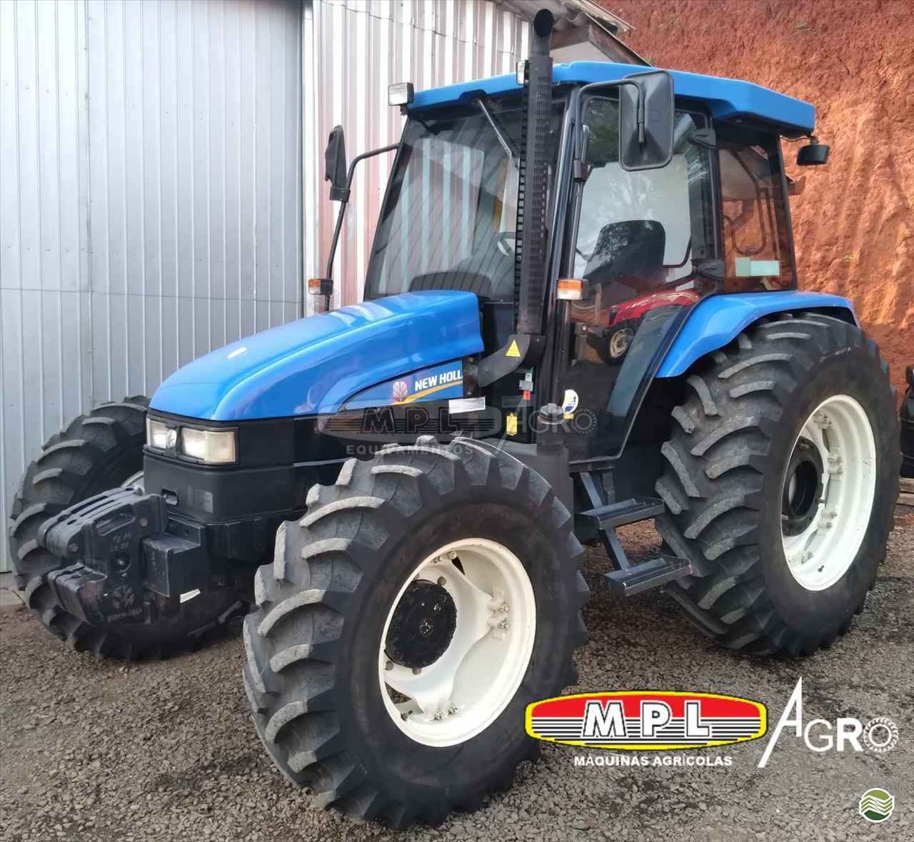 TRATOR NEW HOLLAND NEW TL 95 Tração 4x4 MPL Agro - Máquinas Agrícolas IRATI PARANÁ PR
