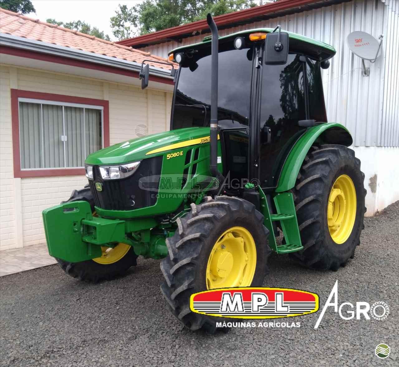 TRATOR JOHN DEERE JOHN DEERE 5080 Tração 4x4 MPL Agro - Máquinas Agrícolas IRATI PARANÁ PR