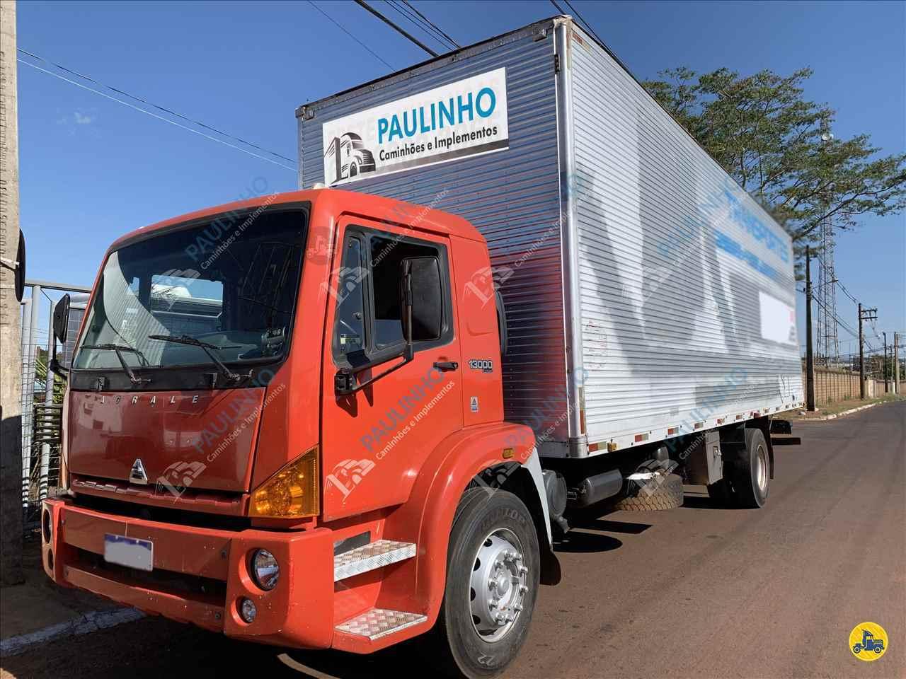CAMINHAO AGRALE AGRALE 13000 Baú Furgão Toco 4x2 Paulinho Caminhões RIO VERDE GOIAS GO