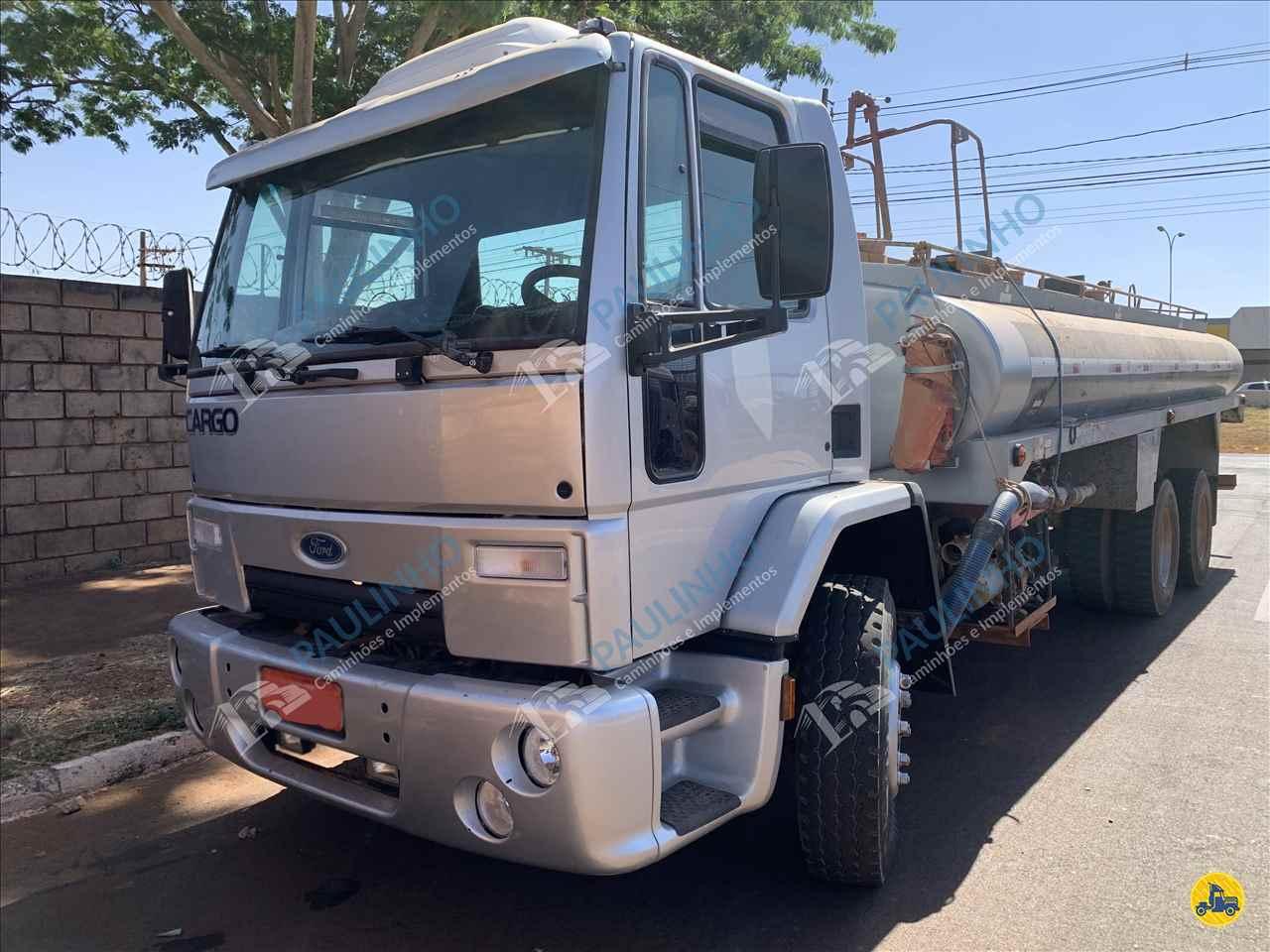 CAMINHAO FORD CARGO 1722 Tanque Pipa Truck 6x2 Paulinho Caminhões RIO VERDE GOIAS GO