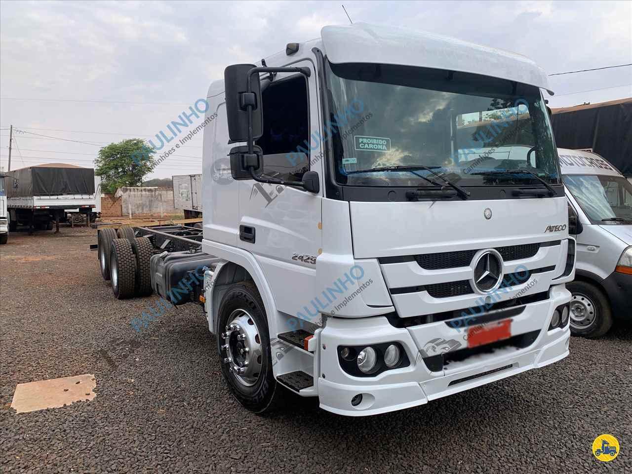 CAMINHAO MERCEDES-BENZ MB 2429 Chassis Truck 6x2 Paulinho Caminhões RIO VERDE GOIAS GO