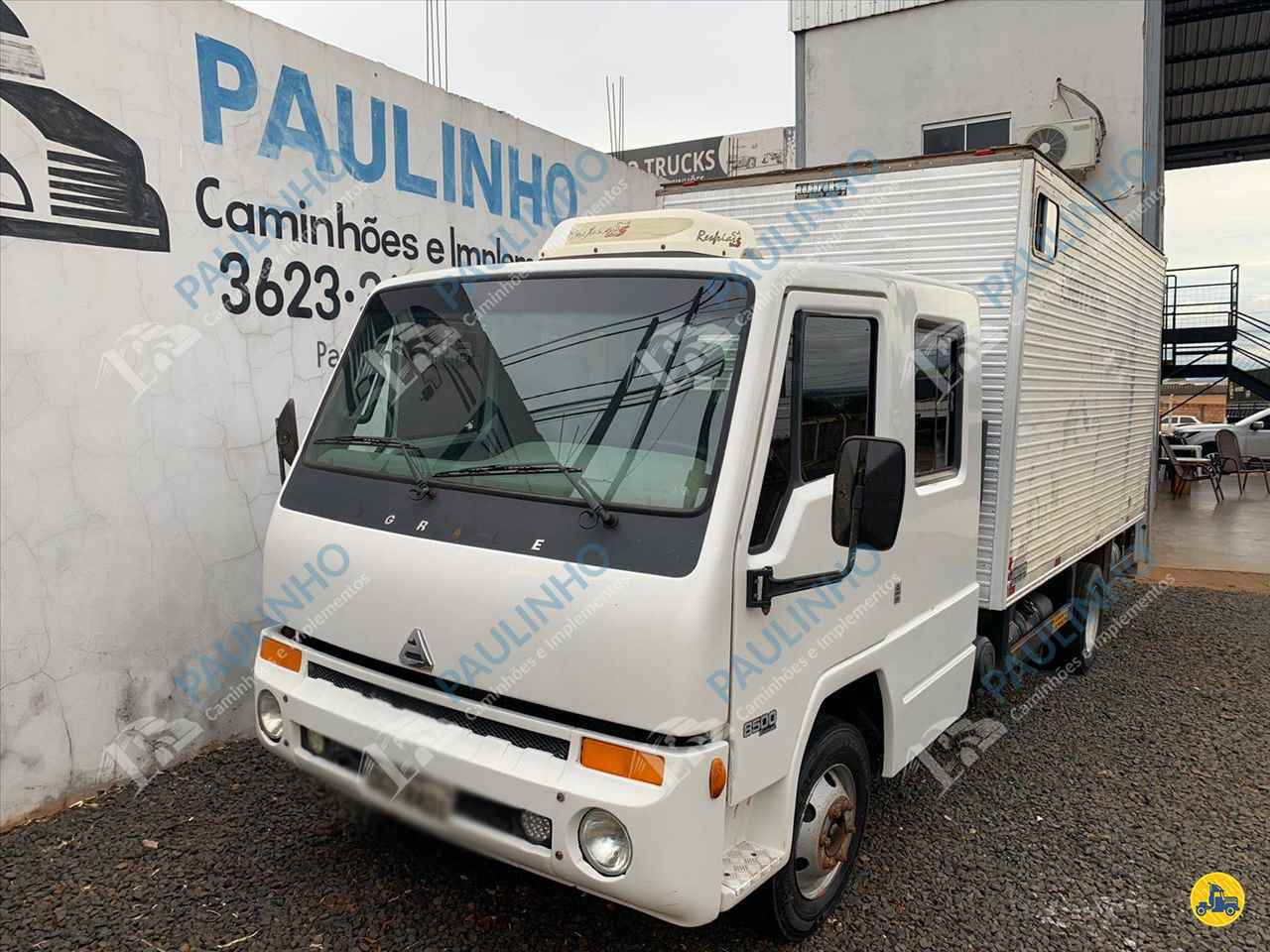 CAMINHAO AGRALE AGRALE 8500 CD Baú Furgão 3/4 4x2 Paulinho Caminhões RIO VERDE GOIAS GO