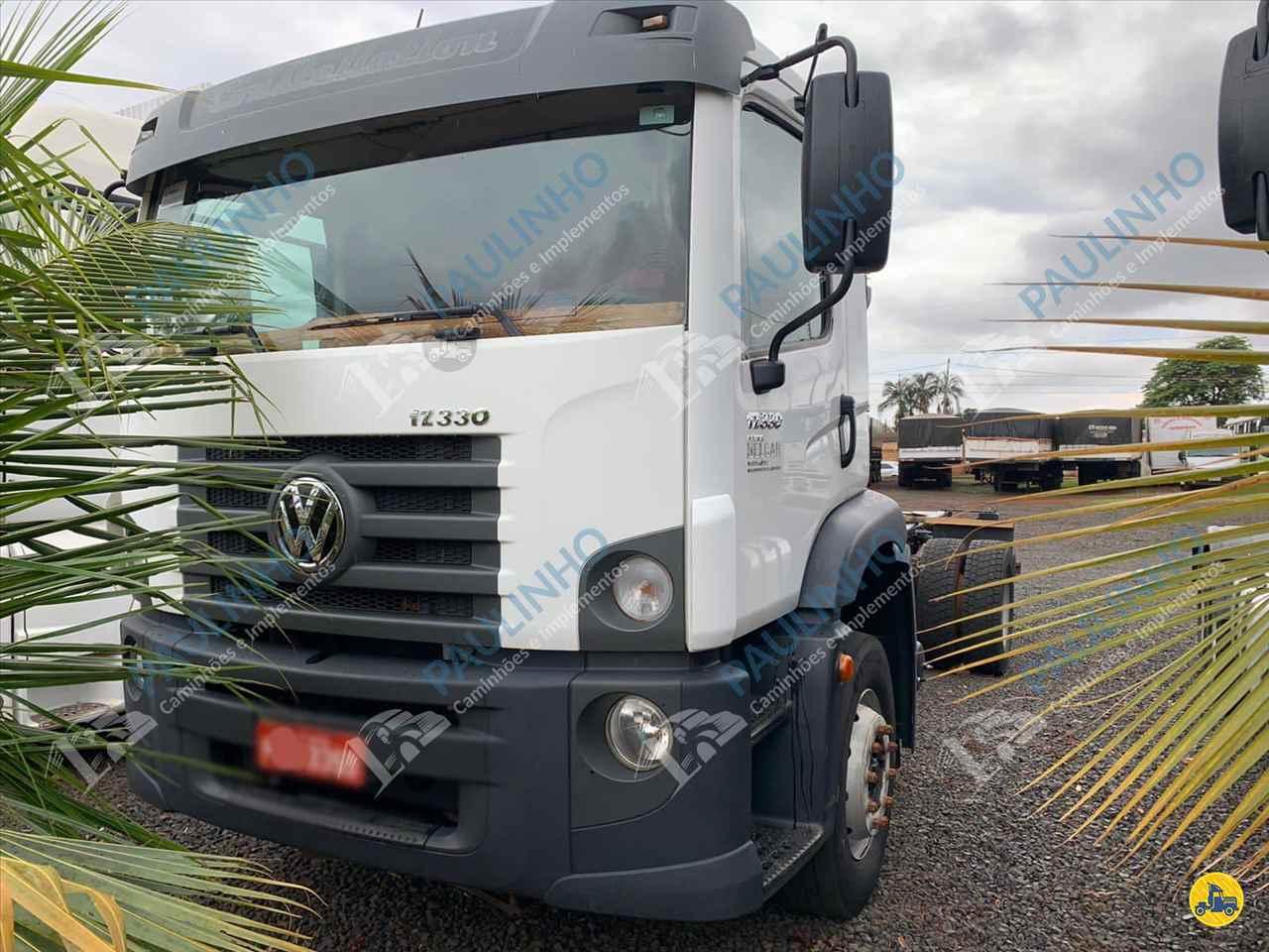 CAMINHAO VOLKSWAGEN VW 17330 Chassis Toco 4x2 Paulinho Caminhões RIO VERDE GOIAS GO