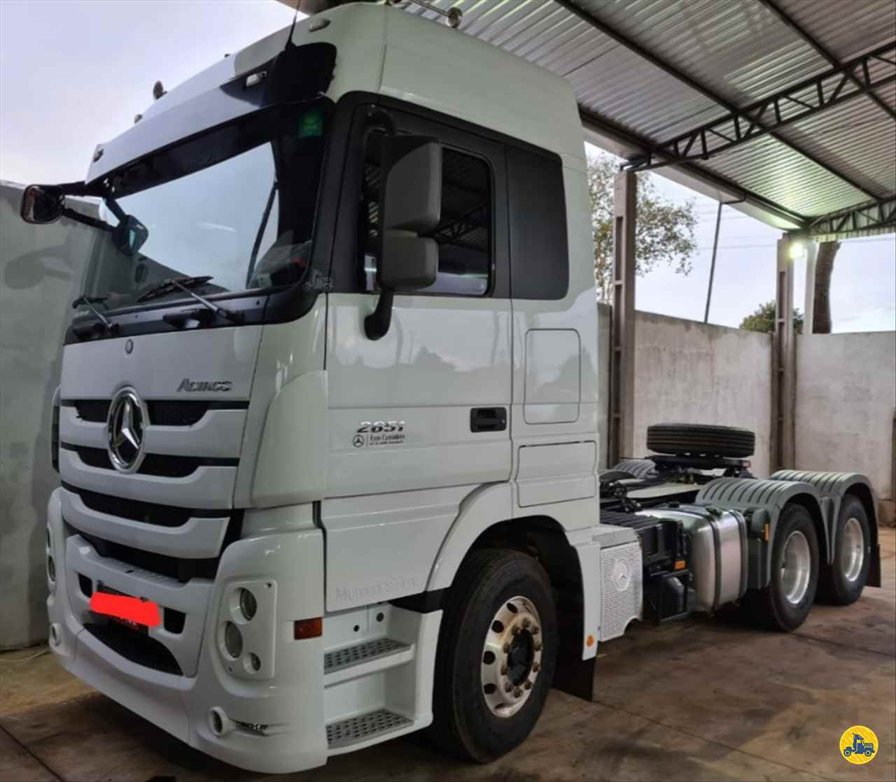 CAMINHAO MERCEDES-BENZ MB 2651 Cavalo Mecânico Traçado 6x4 Rodrigo Caminhões CAMPO GRANDE MATO GROSSO DO SUL MS