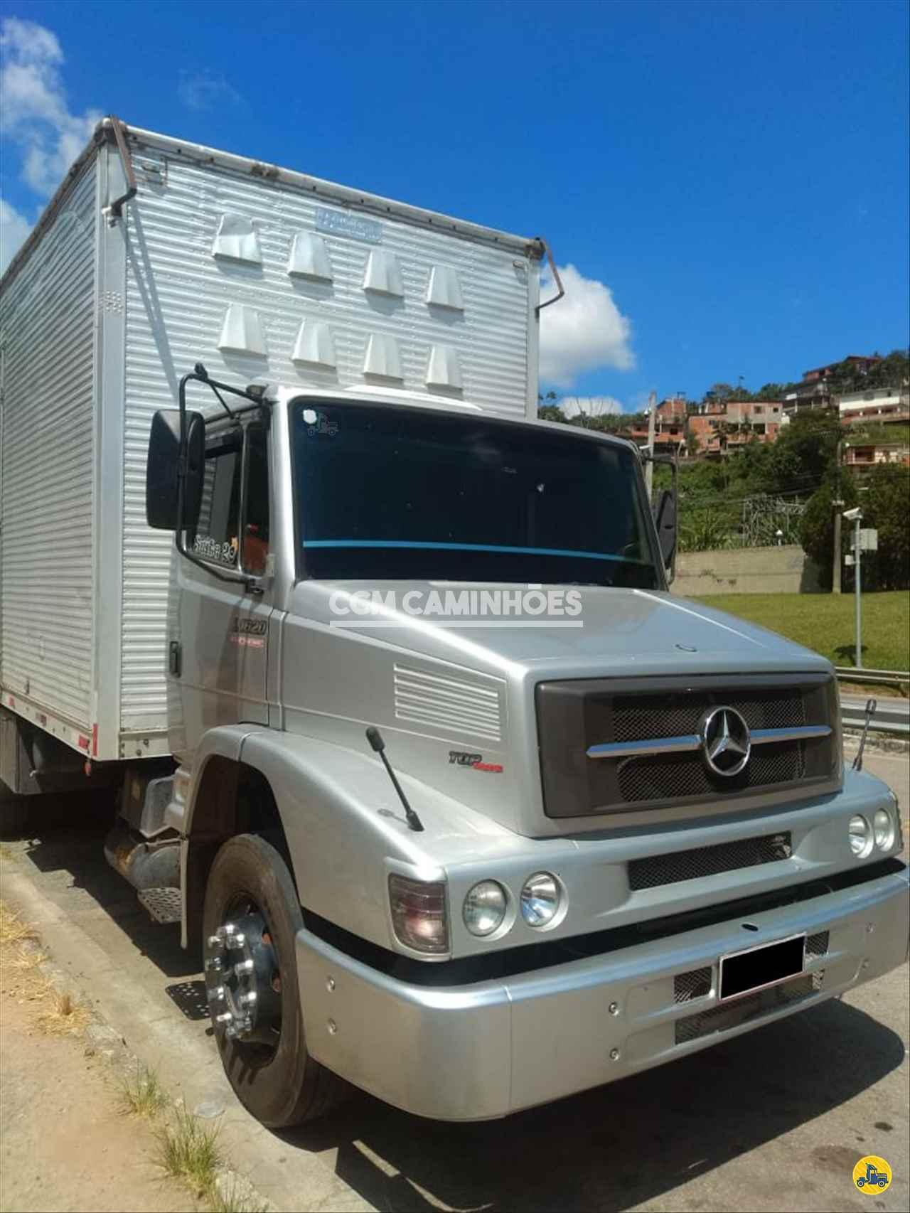 CAMINHAO MERCEDES-BENZ MB 1620 Baú Furgão Truck 6x2 CCM Caminhões GOIANIA GOIAS GO