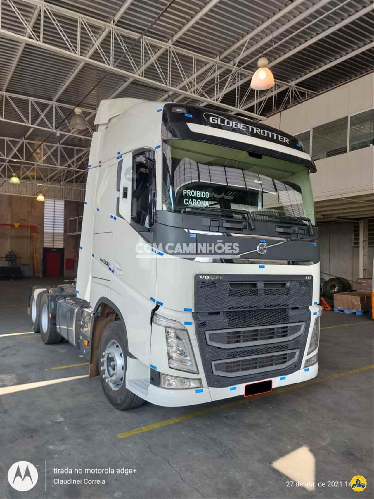 CAMINHAO VOLVO VOLVO FH 500 Cavalo Mecânico Truck 6x2 CCM Caminhões GOIANIA GOIAS GO