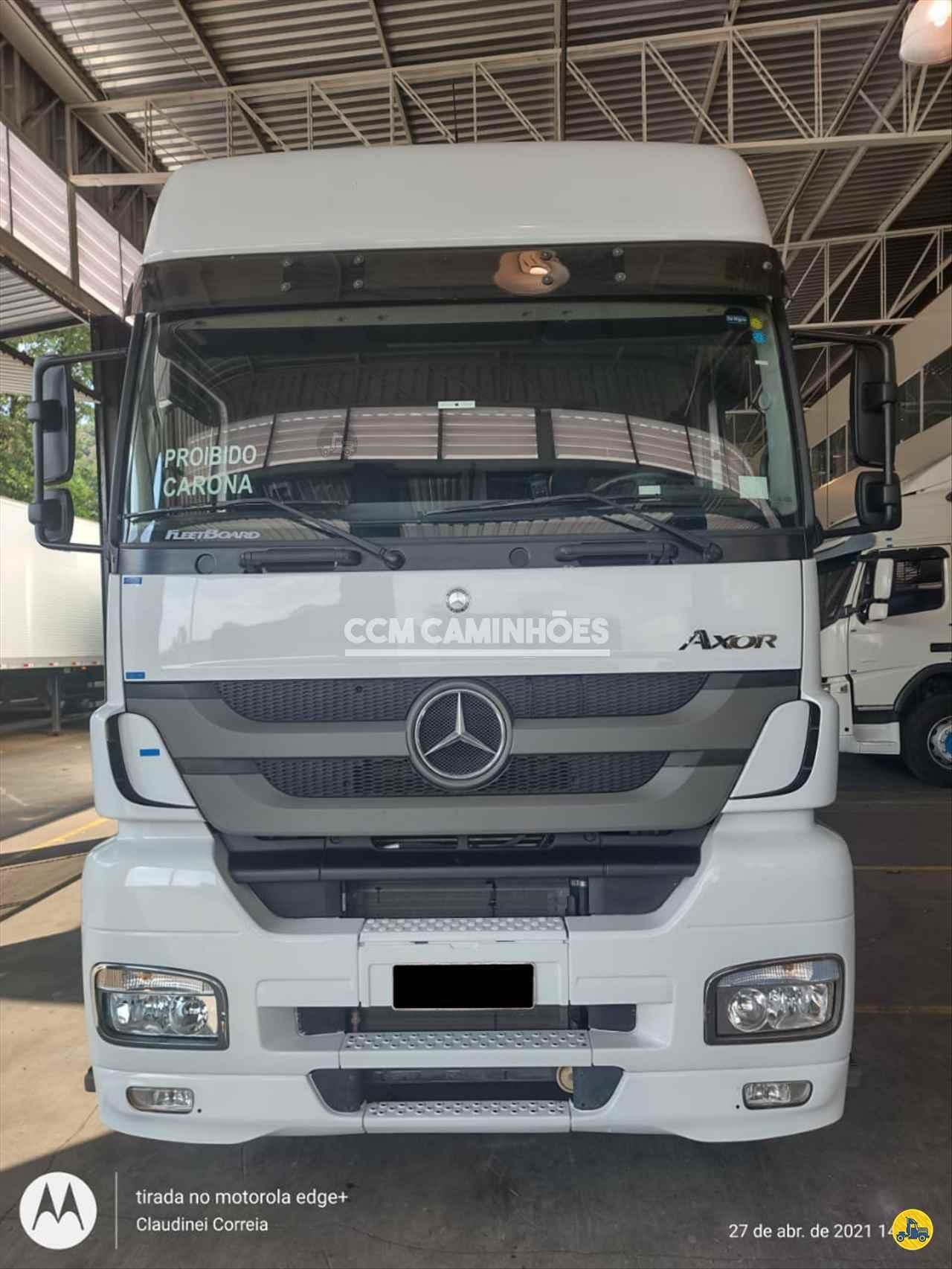 CAMINHAO MERCEDES-BENZ MB 2544 Cavalo Mecânico Truck 6x2 CCM Caminhões GOIANIA GOIAS GO