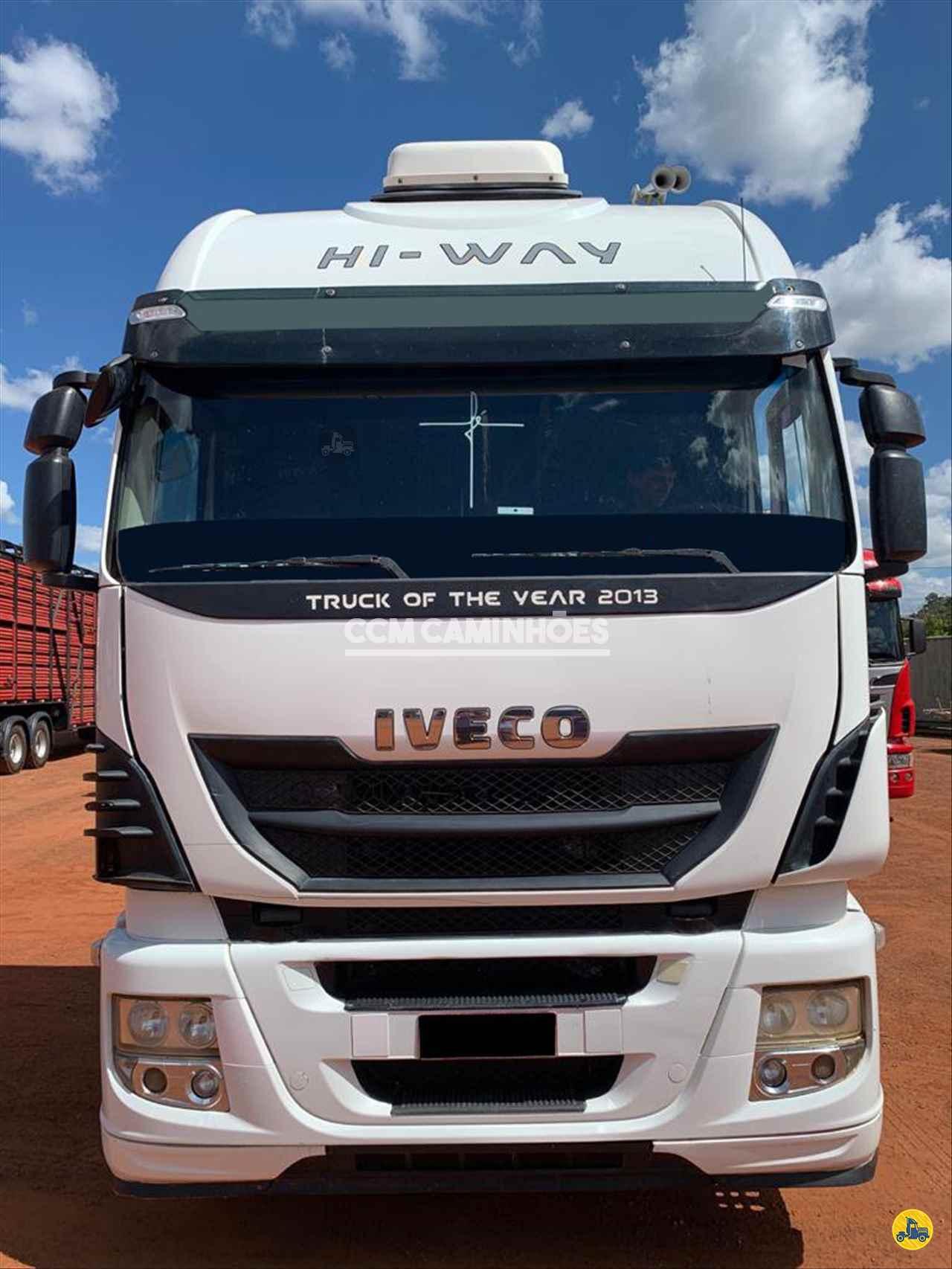 CAMINHAO IVECO STRALIS 480 Cavalo Mecânico Truck 6x2 CCM Caminhões GOIANIA GOIAS GO