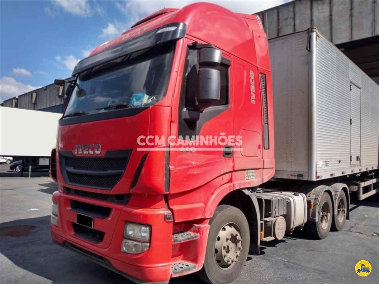 CAMINHAO IVECO STRALIS 440 Cavalo Mecânico Truck 6x2 CCM Caminhões GOIANIA GOIAS GO