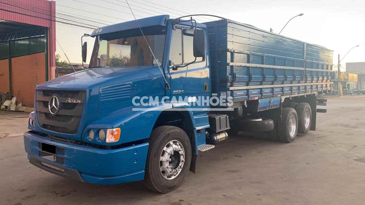 CAMINHAO MERCEDES-BENZ MB 2324 Graneleiro Truck 6x2 CCM Caminhões GOIANIA GOIAS GO