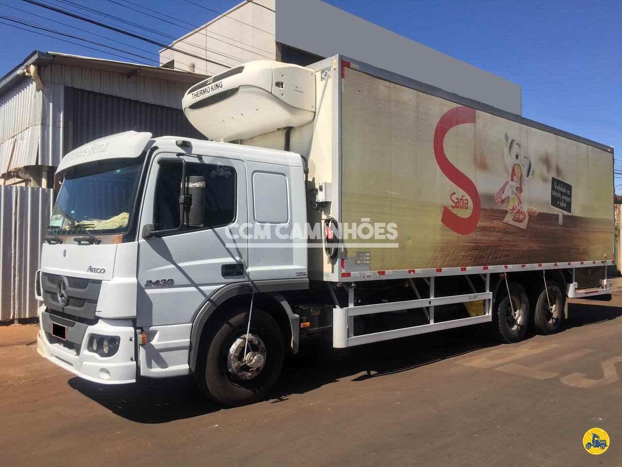 CAMINHAO MERCEDES-BENZ MB 2430 Chassis Truck 6x2 CCM Caminhões GOIANIA GOIAS GO