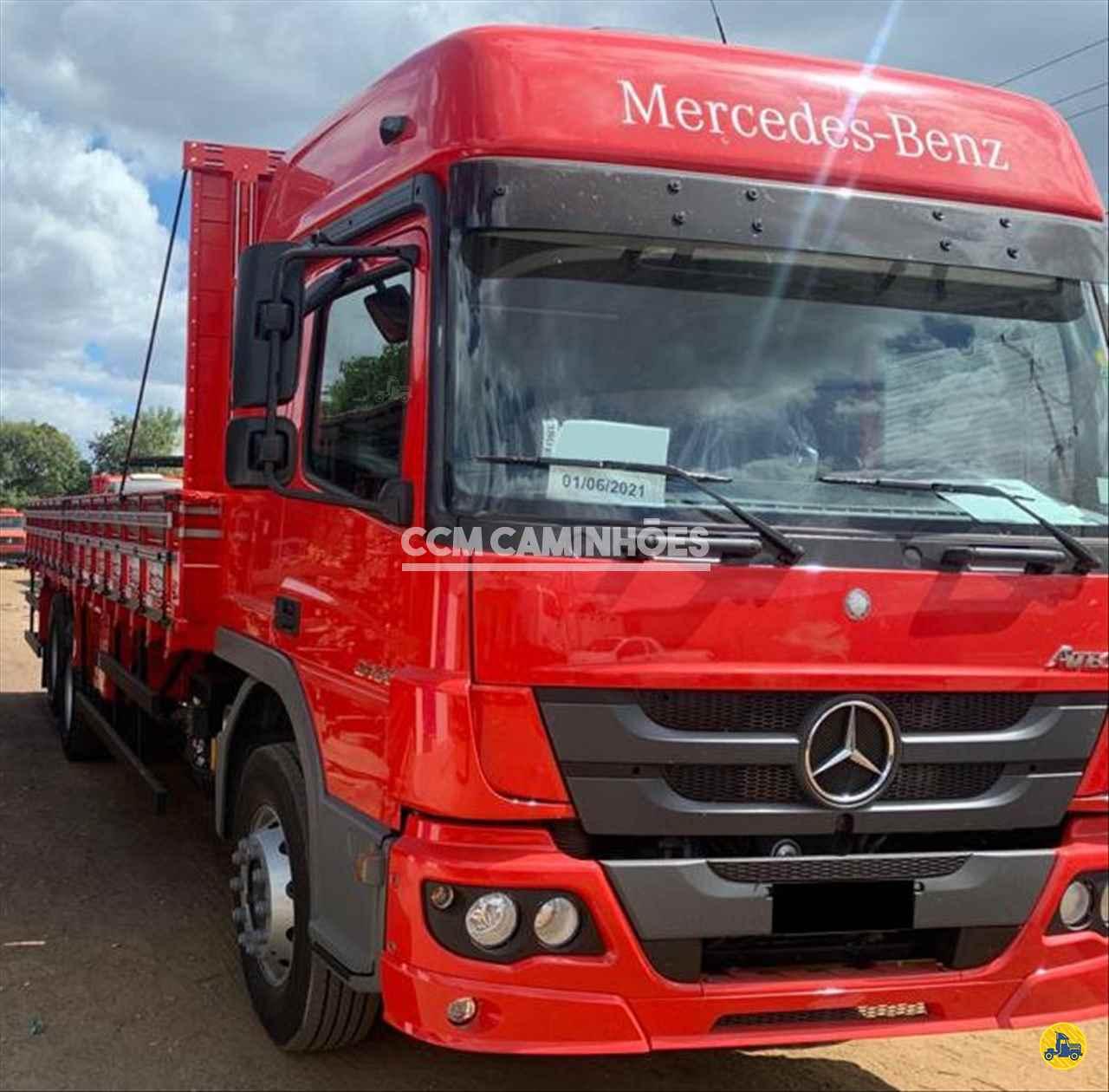 CAMINHAO MERCEDES-BENZ MB 2430 Carga Seca Truck 6x2 CCM Caminhões GOIANIA GOIAS GO