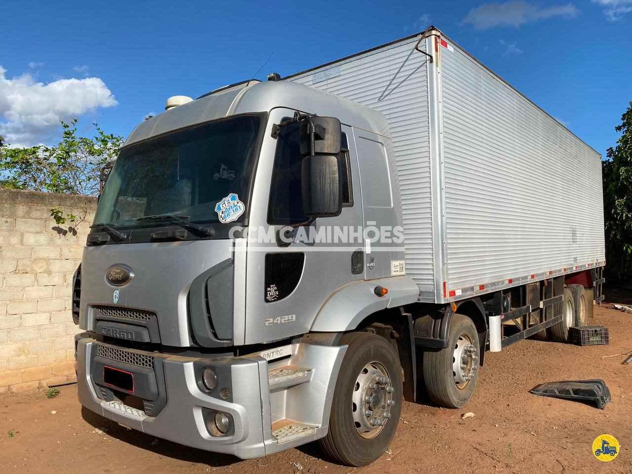 CAMINHAO FORD CARGO 2429 Baú Furgão BiTruck 8x2 CCM Caminhões GOIANIA GOIAS GO