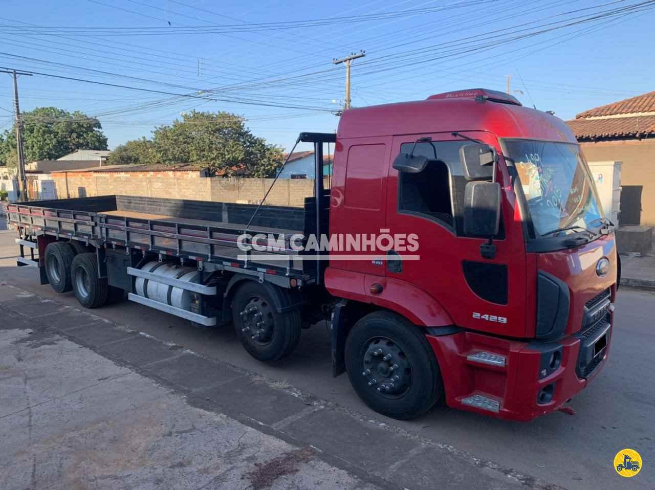 CAMINHAO FORD CARGO 2429 Carga Seca BiTruck 8x2 CCM Caminhões GOIANIA GOIAS GO