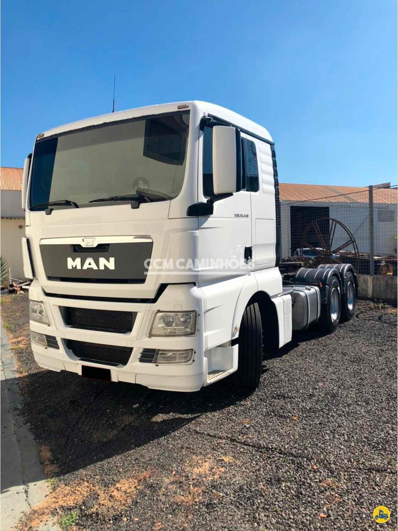 CAMINHAO MAN TGX 29 440 Cavalo Mecânico Traçado 6x4 CCM Caminhões GOIANIA GOIAS GO