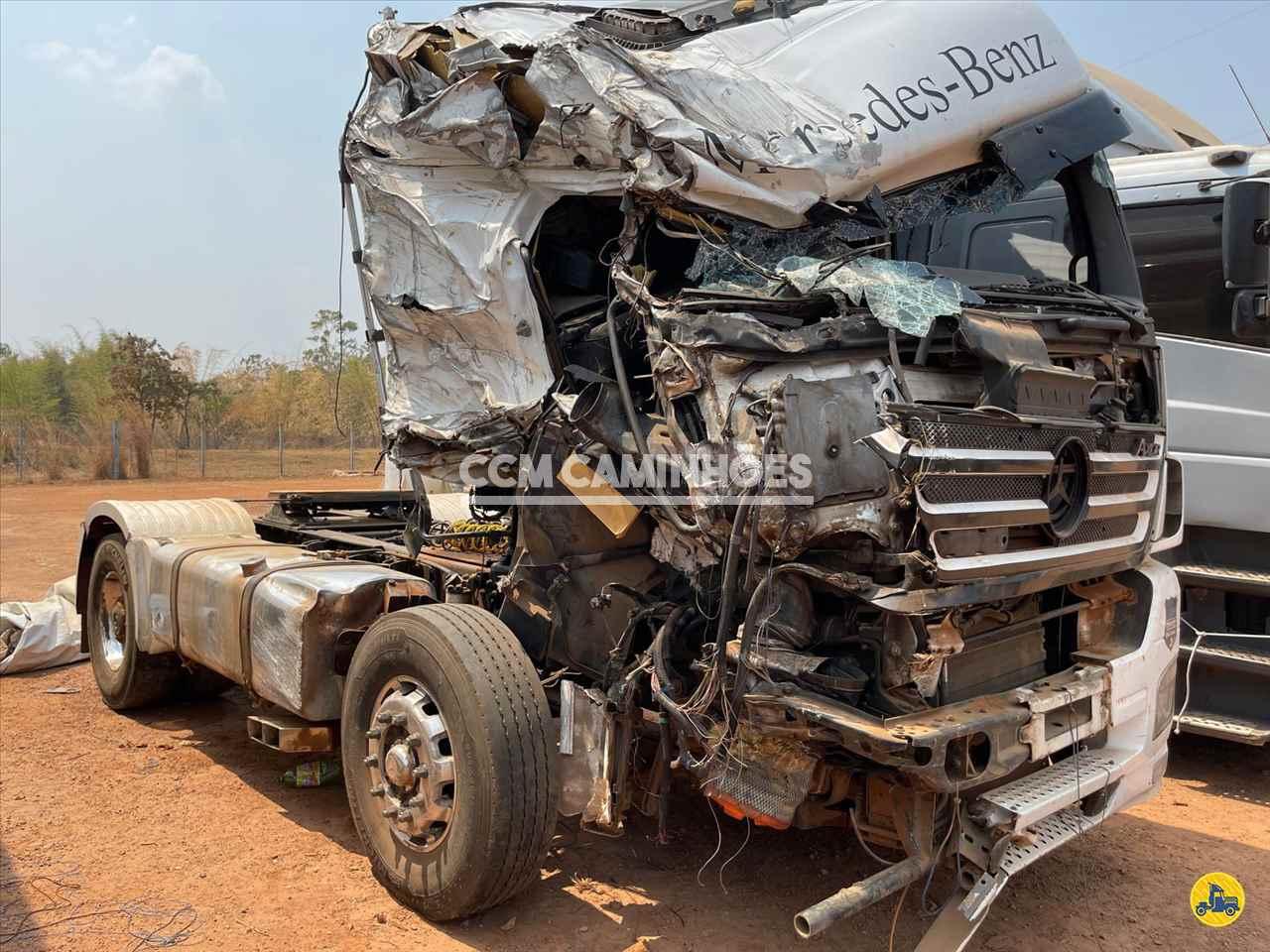 CAMINHAO MERCEDES-BENZ MB 2044 Cavalo Mecânico Toco 4x2 CCM Caminhões GOIANIA GOIAS GO