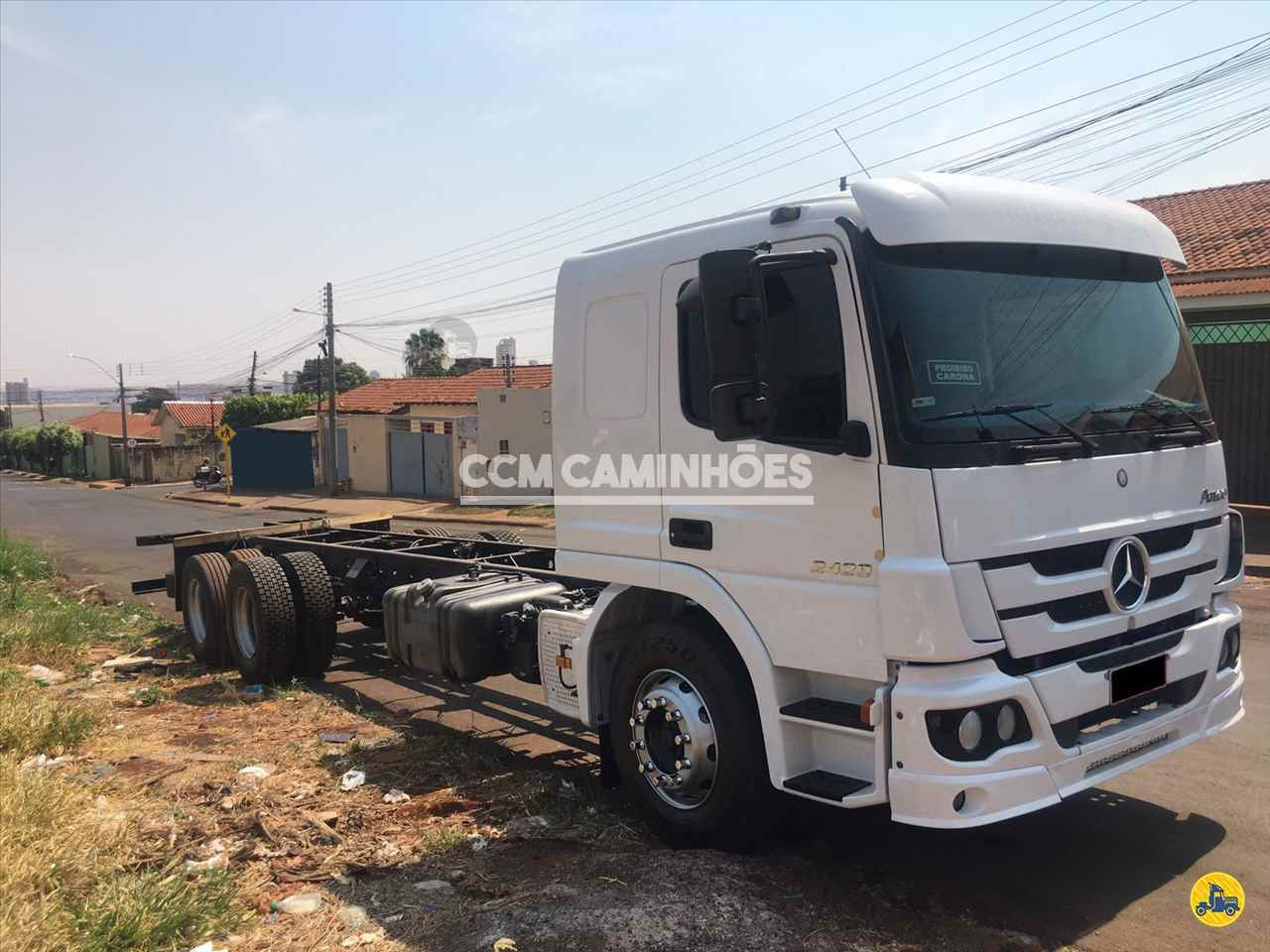 CAMINHAO MERCEDES-BENZ MB 2429 Chassis Truck 6x2 CCM Caminhões GOIANIA GOIAS GO