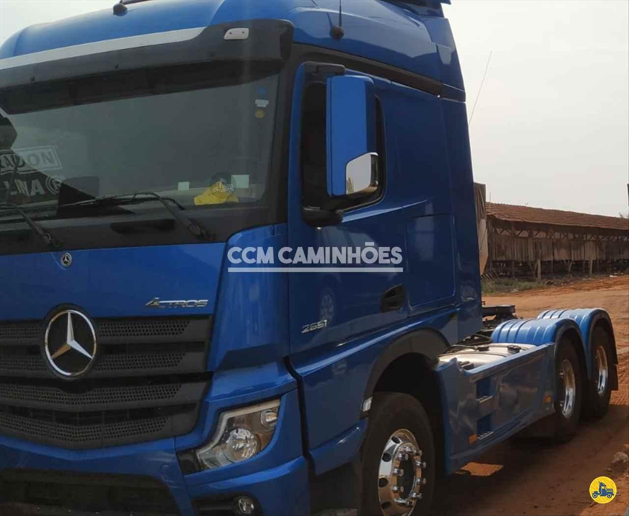 CAMINHAO MERCEDES-BENZ MB 2651 Cavalo Mecânico Traçado 6x4 CCM Caminhões GOIANIA GOIAS GO