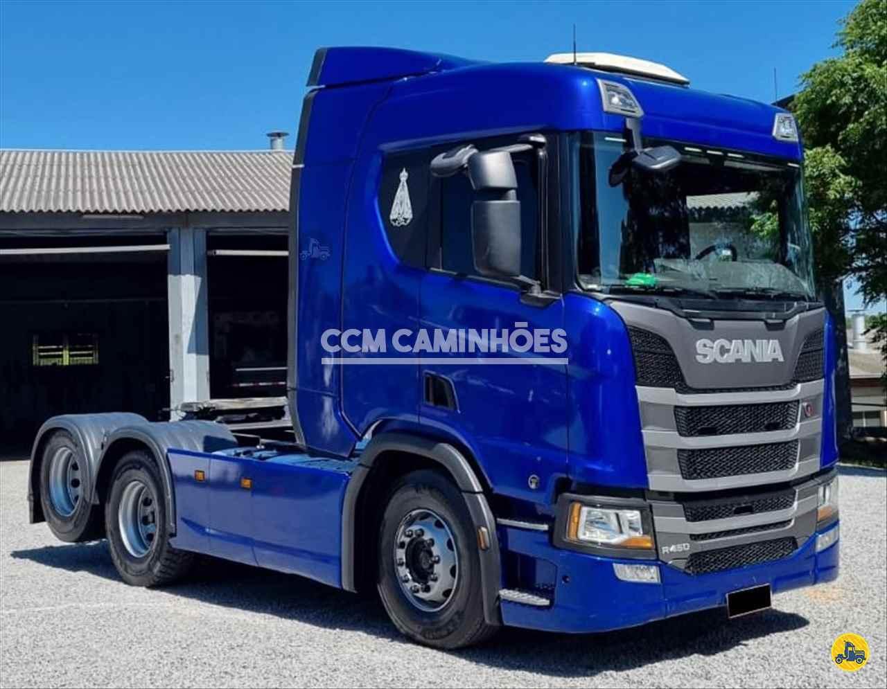 CAMINHAO SCANIA SCANIA 450 Cavalo Mecânico Truck 6x2 CCM Caminhões GOIANIA GOIAS GO