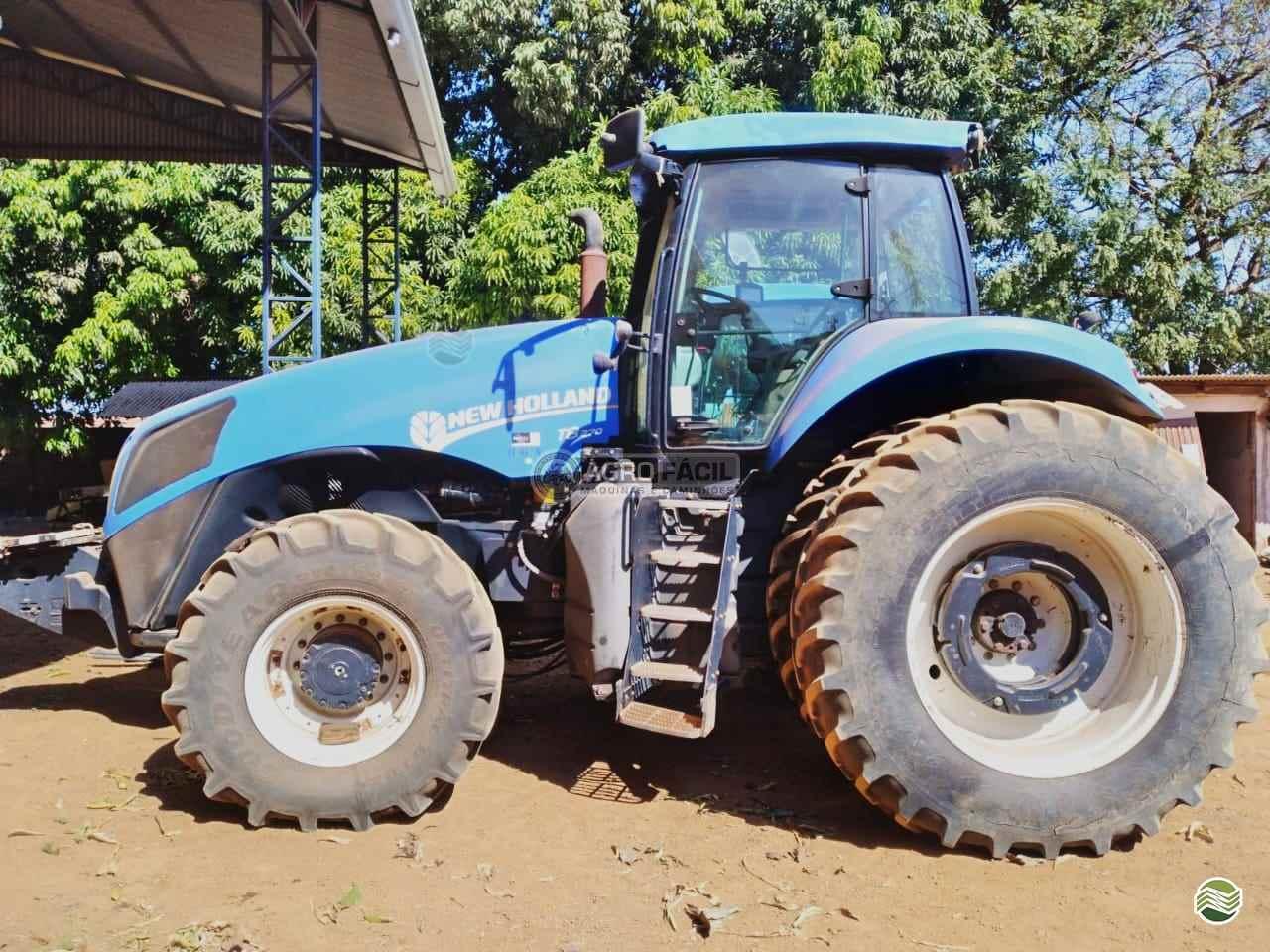 TRATOR NEW HOLLAND NEW T8 270 Tração 4x4 Agro Fácil Máquinas PRIMAVERA DO LESTE MATO GROSSO MT